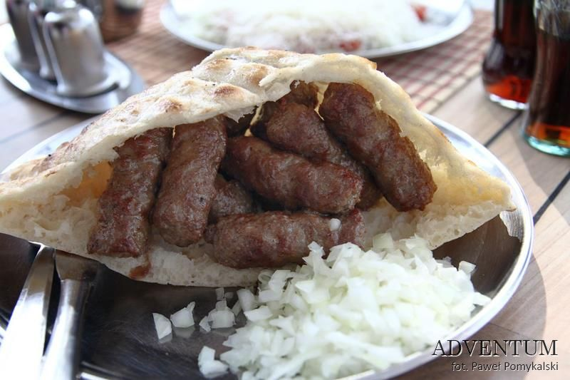 Sarajewo Bałkany Bośnia i Hecegowina Kuchnia