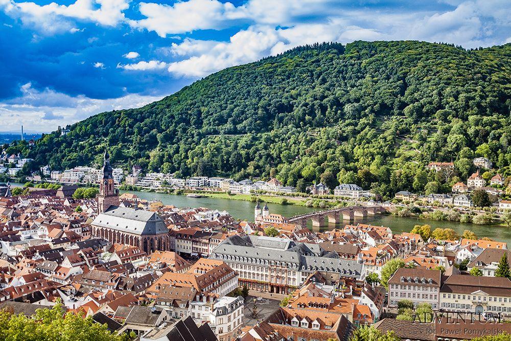 Heidelberg Niemcy Zabytki Zwiedzanie Atrakcje Zamek