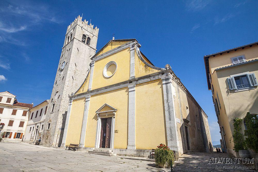 Motovun Istria Chorwacja Atrakcje Zwiedzanie