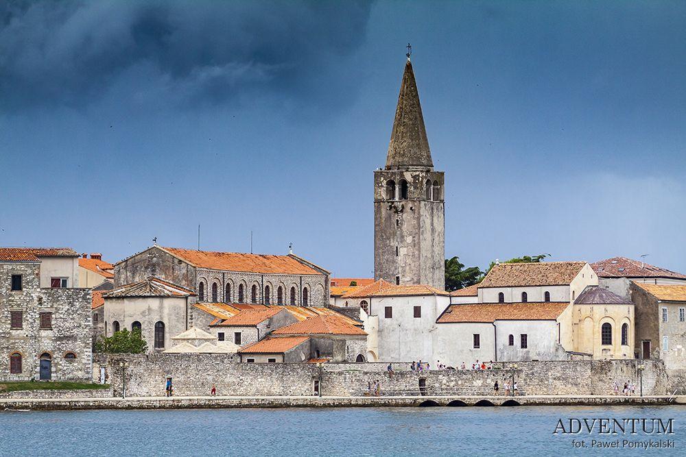 Poreč Istria Chorwacja Atrakcje Zwiedzanie UNESCO