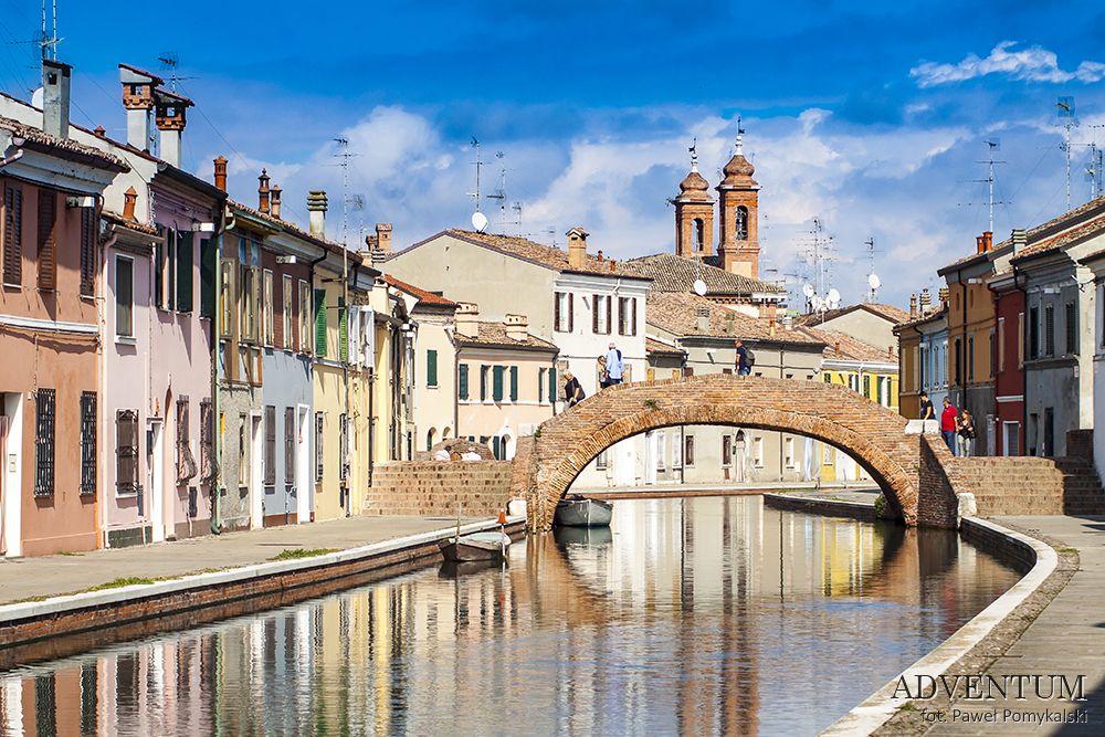 Commachio Rimini Włochy Adriatyk Atrakcje Zwiedzanie