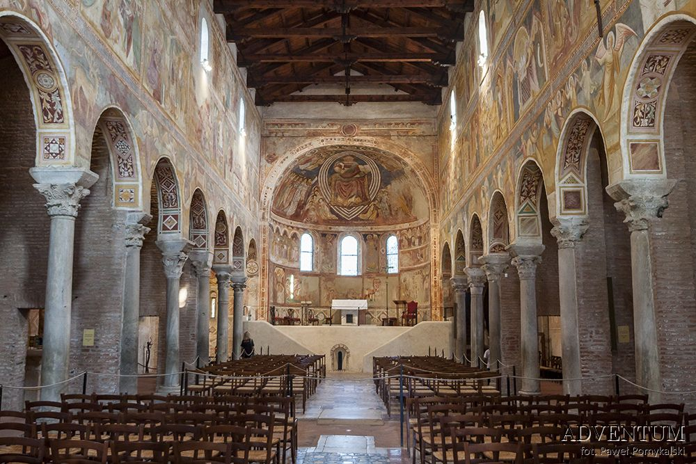 Pomposa Rimini Włochy Adriatyk Atrakcje Zwiedzanie