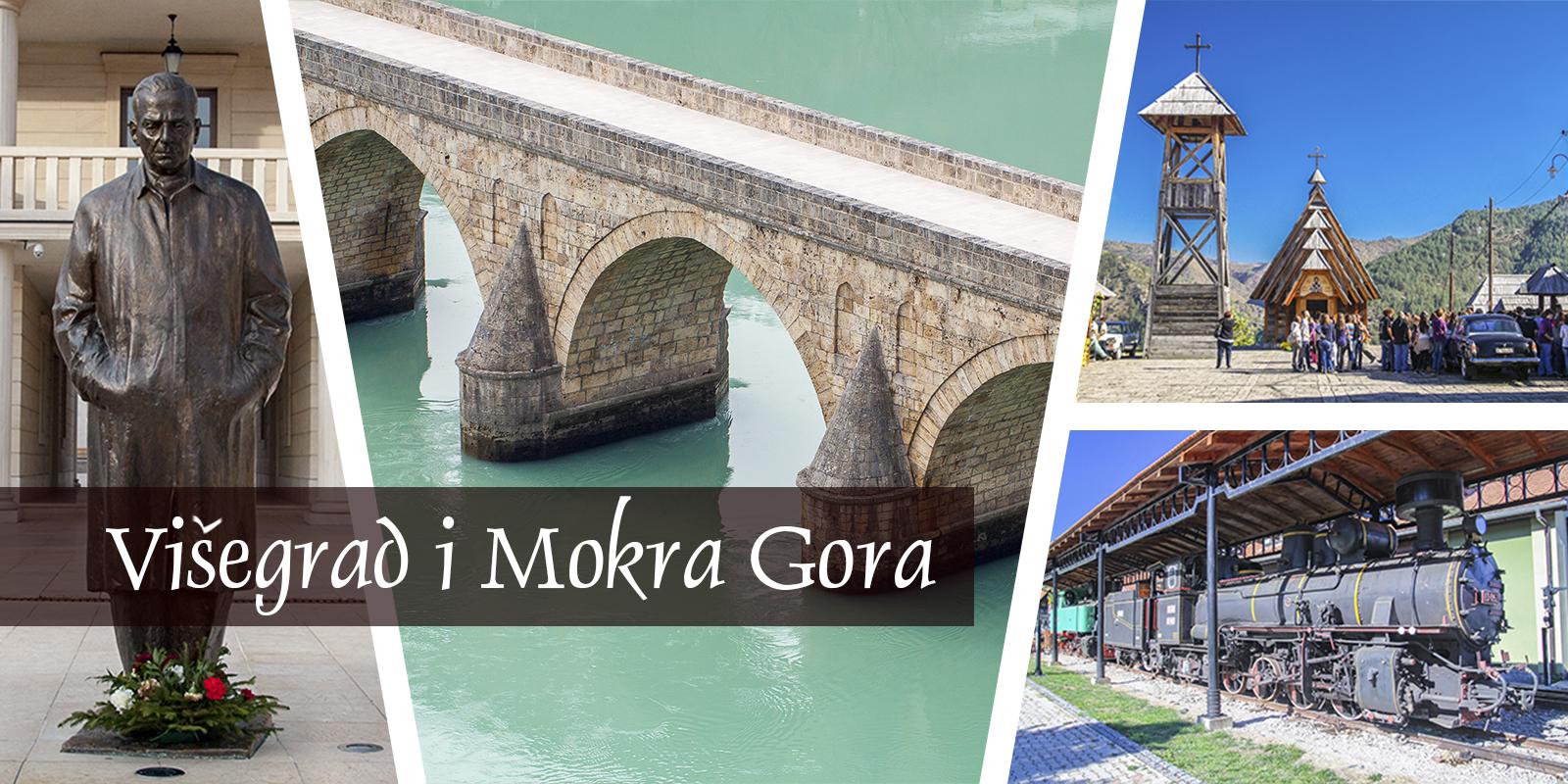 Visegrad Wyszehrad Bośnia Andrić Most na Drinie Mecavnik Kusturica Mokra Gora