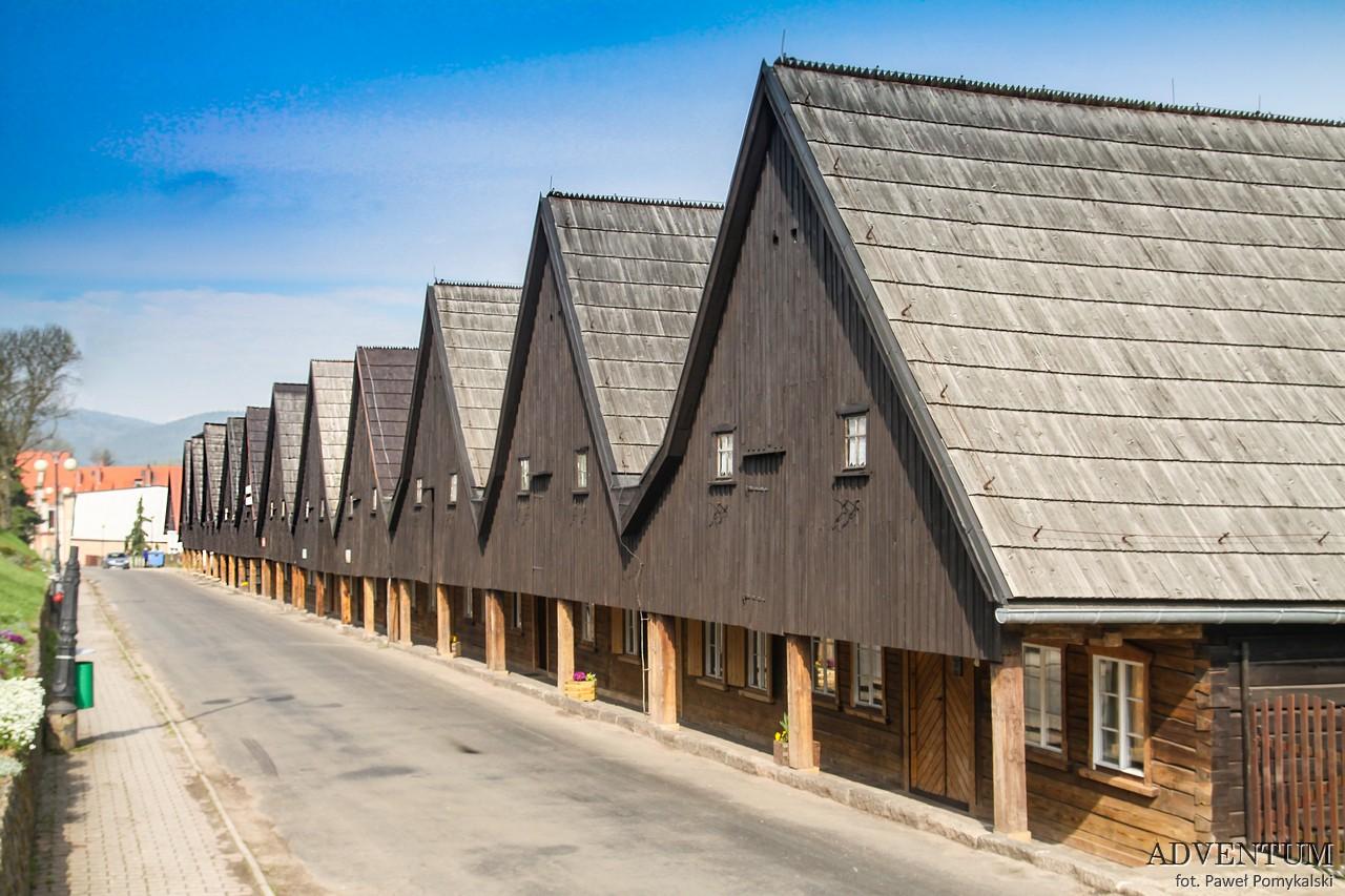 Chełmsko Śląskie rynek dolny śląsk atrakcje dom tkaczy