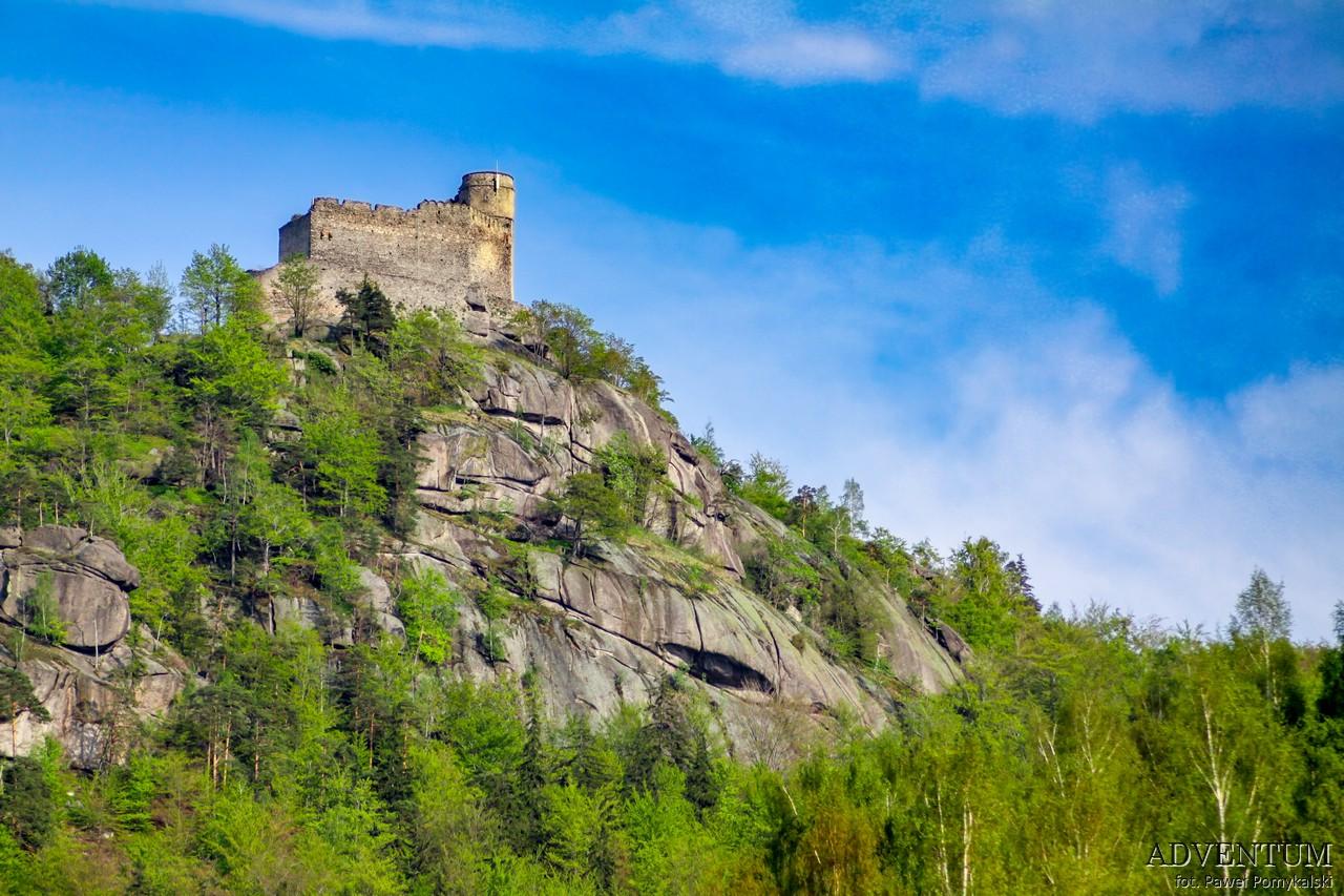 Dolina Pałaców i Ogrodów Chojnik Pałac Dolny Śląsk Przewodnik
