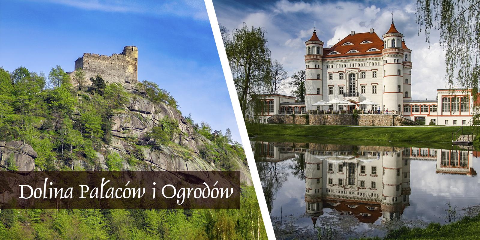 Dolina Pałaców i Ogrodów Łomnica Pałac Dolny Śląsk Przewodnik