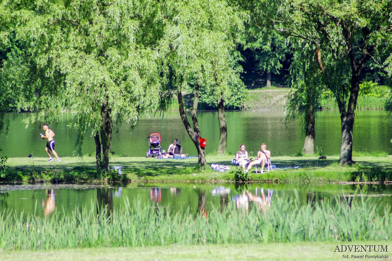 Katowice Górny Śląsk zabytki zwiedzanie atrakcje park