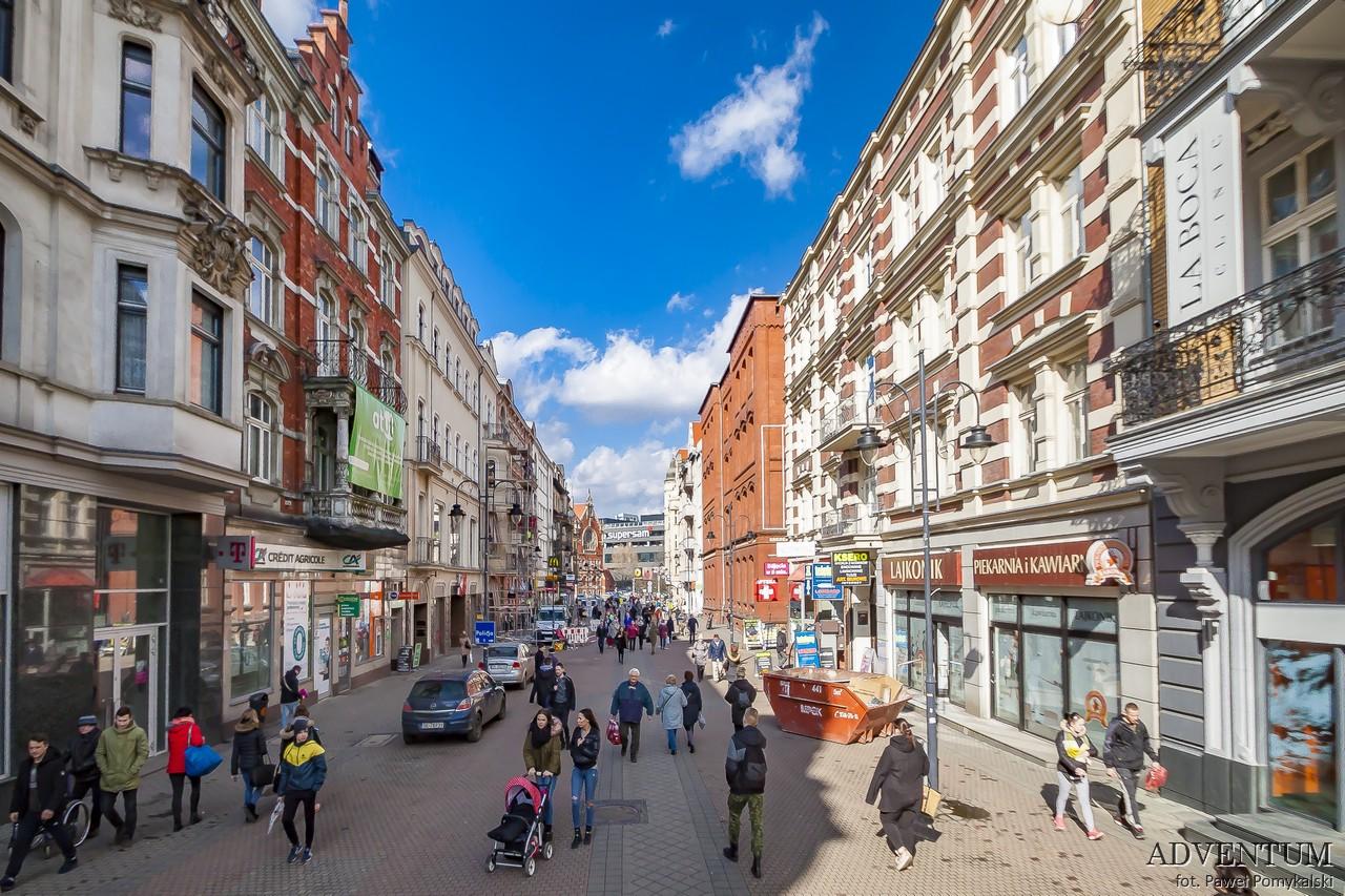Katowice Górny Śląsk zabytki zwiedzanie atrakcje