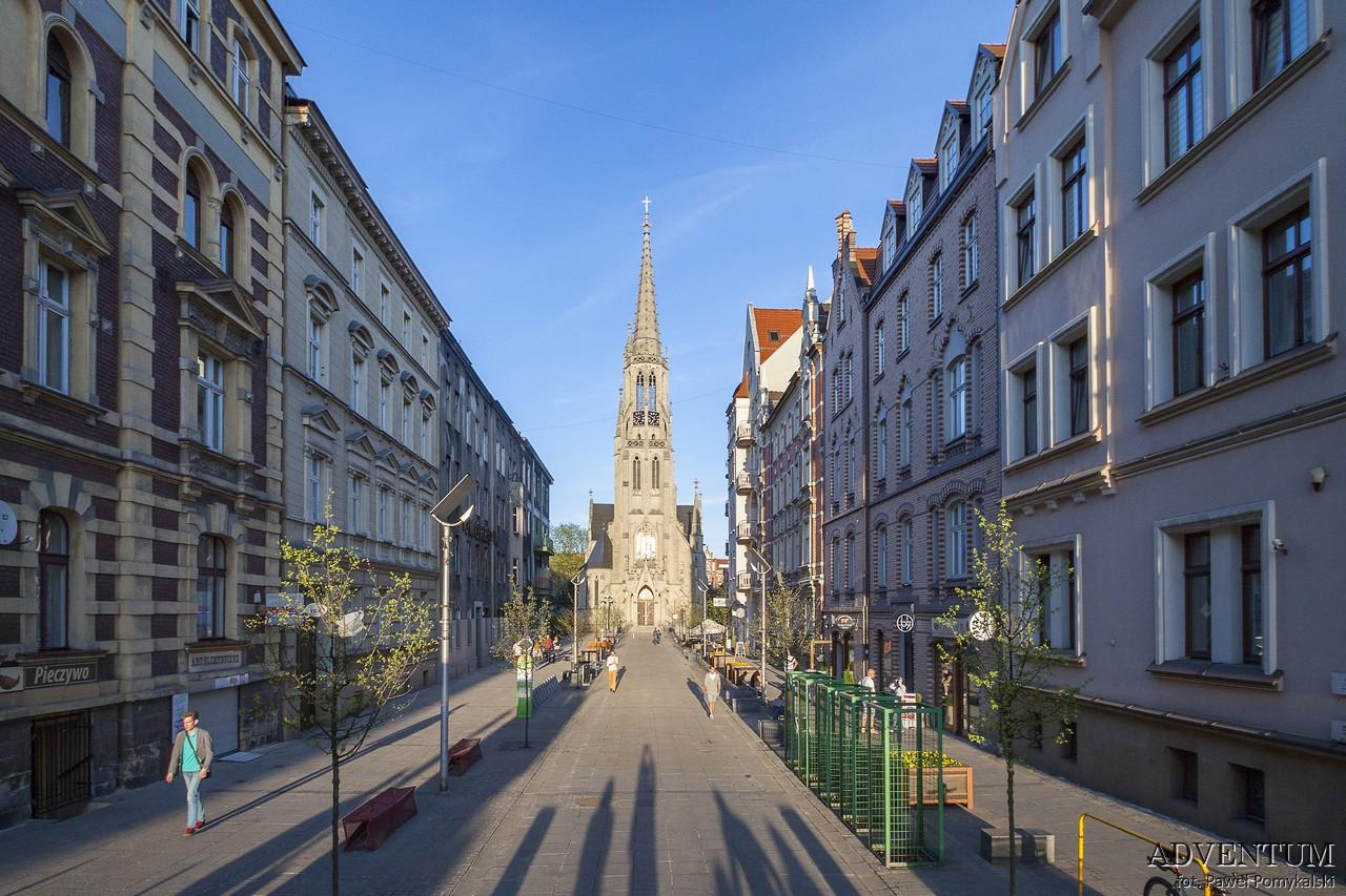 Katowice Górny Śląsk zabytki zwiedzanie atrakcje ulica mariacka
