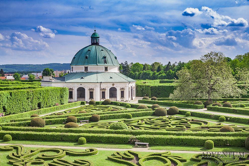 Kromieryż Kroměříž Ogród Zamek UNESCO Czechy