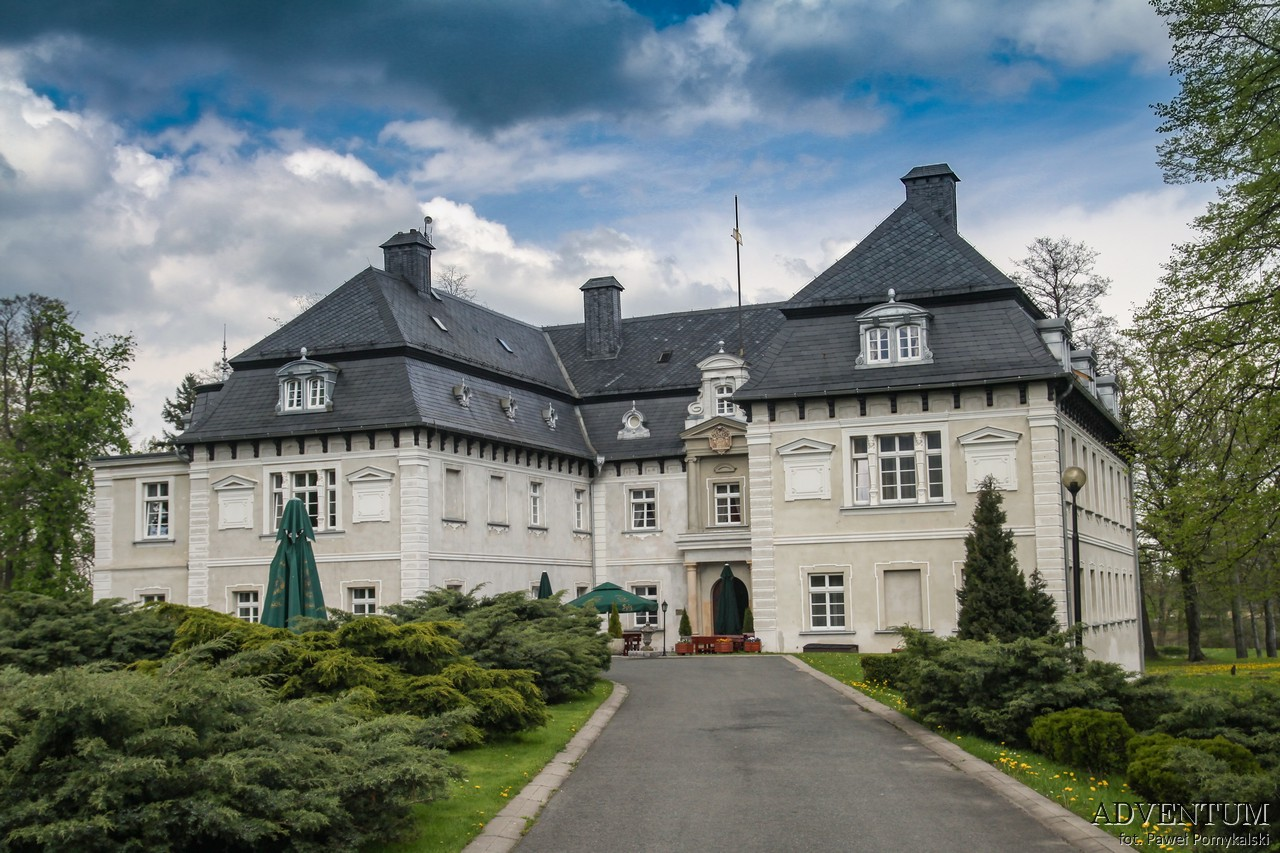 Dolina Pałaców i Ogrodów Miłków Pałac Dolny Śląsk Przewodnik