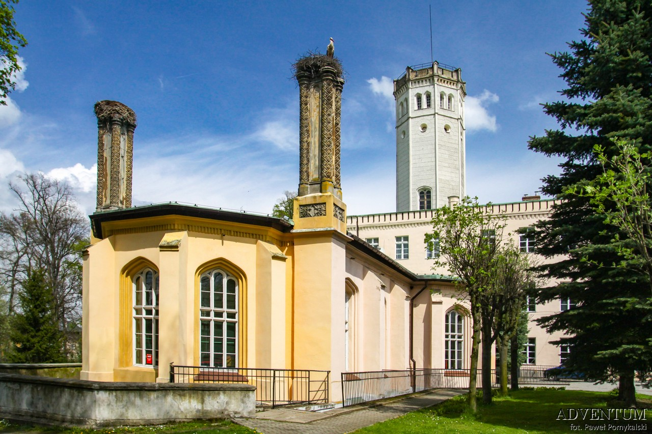 Dolina Pałaców i Ogrodów Mysłakowice Pałac Dolny Śląsk Przewodnik
