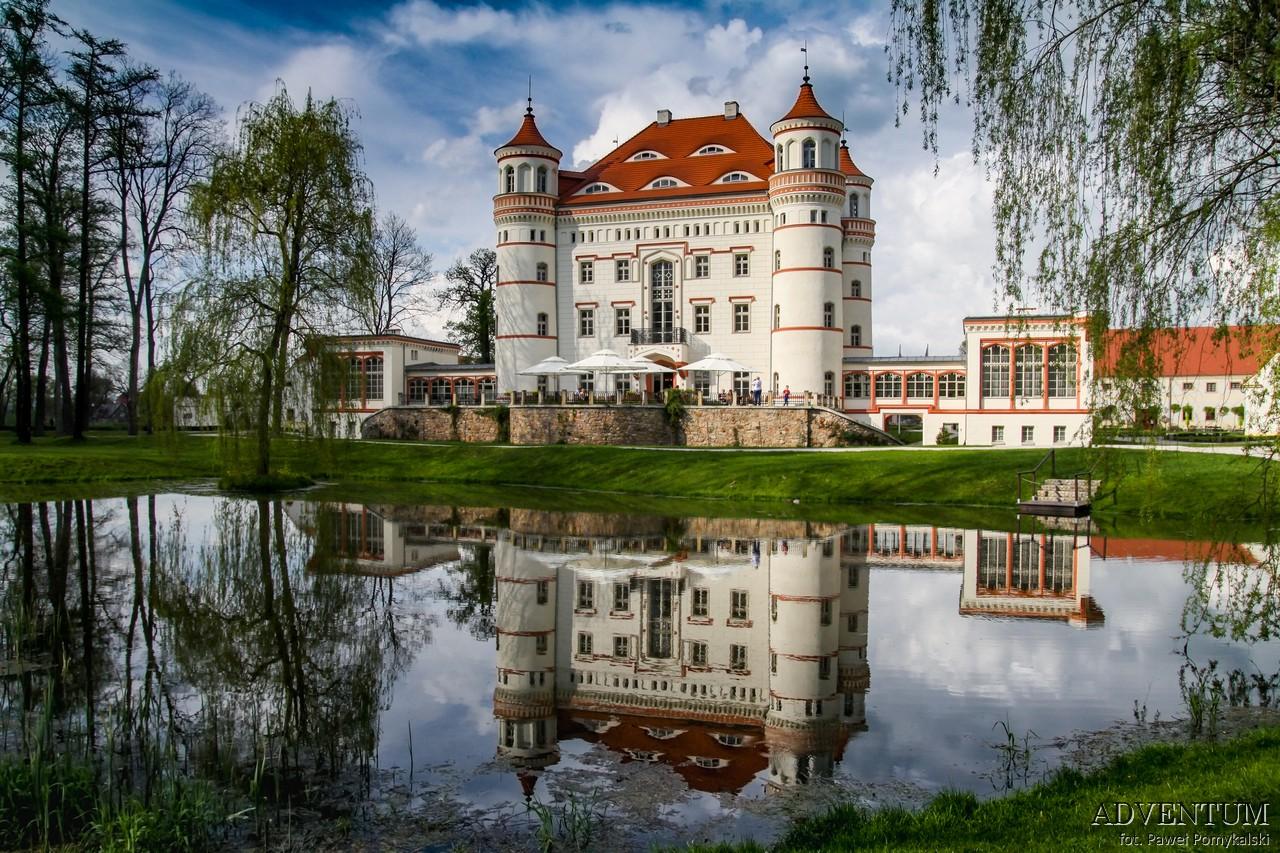 DolinaPałaców i Ogrodów Wojanów Pałac Dolny Śląsk