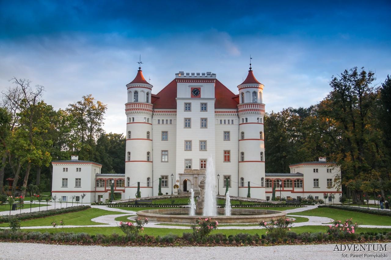 Dolina Pałaców i Ogrodów Wojanów Pałac Dolny Śląsk Przewodnik