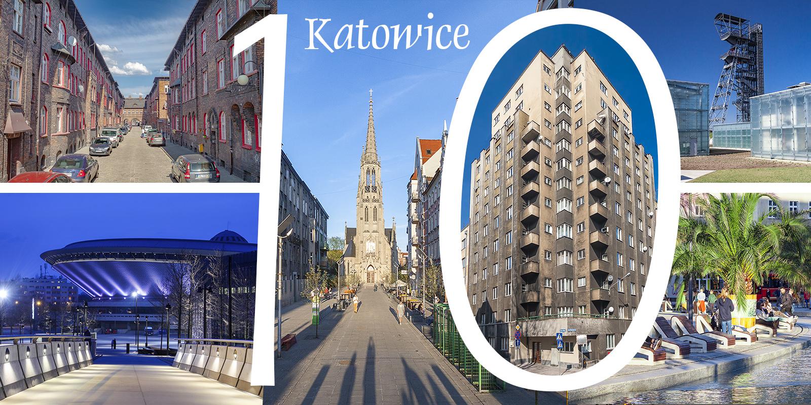 Katowice Górny Śląsk zabytki zwiedzanie atrakcje rynek