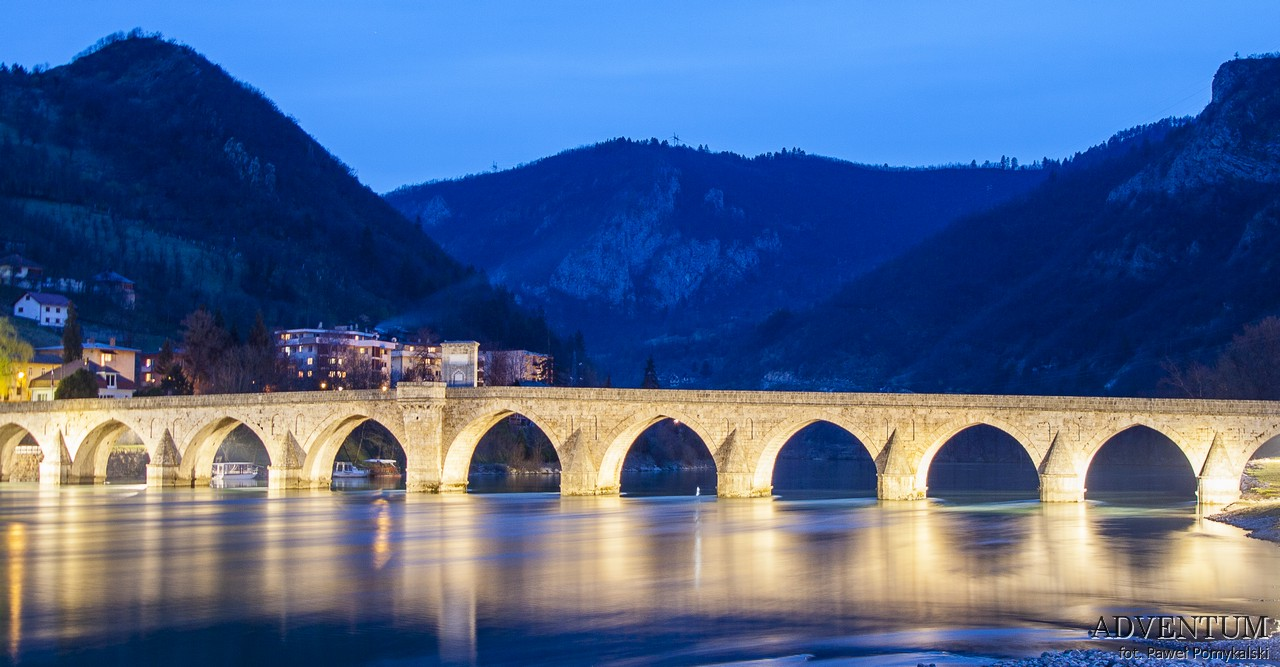 Bośnia i Hercegowina Mostar Sarajewo Visegrad Most Atrakcje Zwiedzanie Zabytki