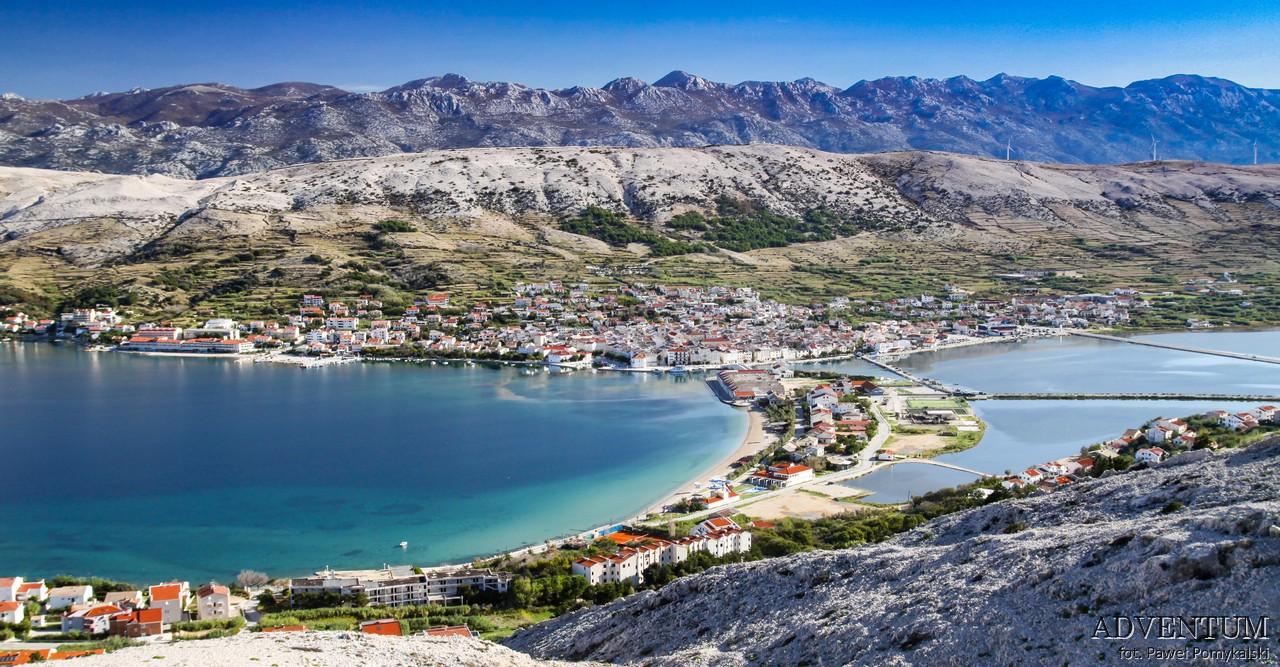 Chorwacja Pag Morze Wyspa Wakacje Atrakcje
