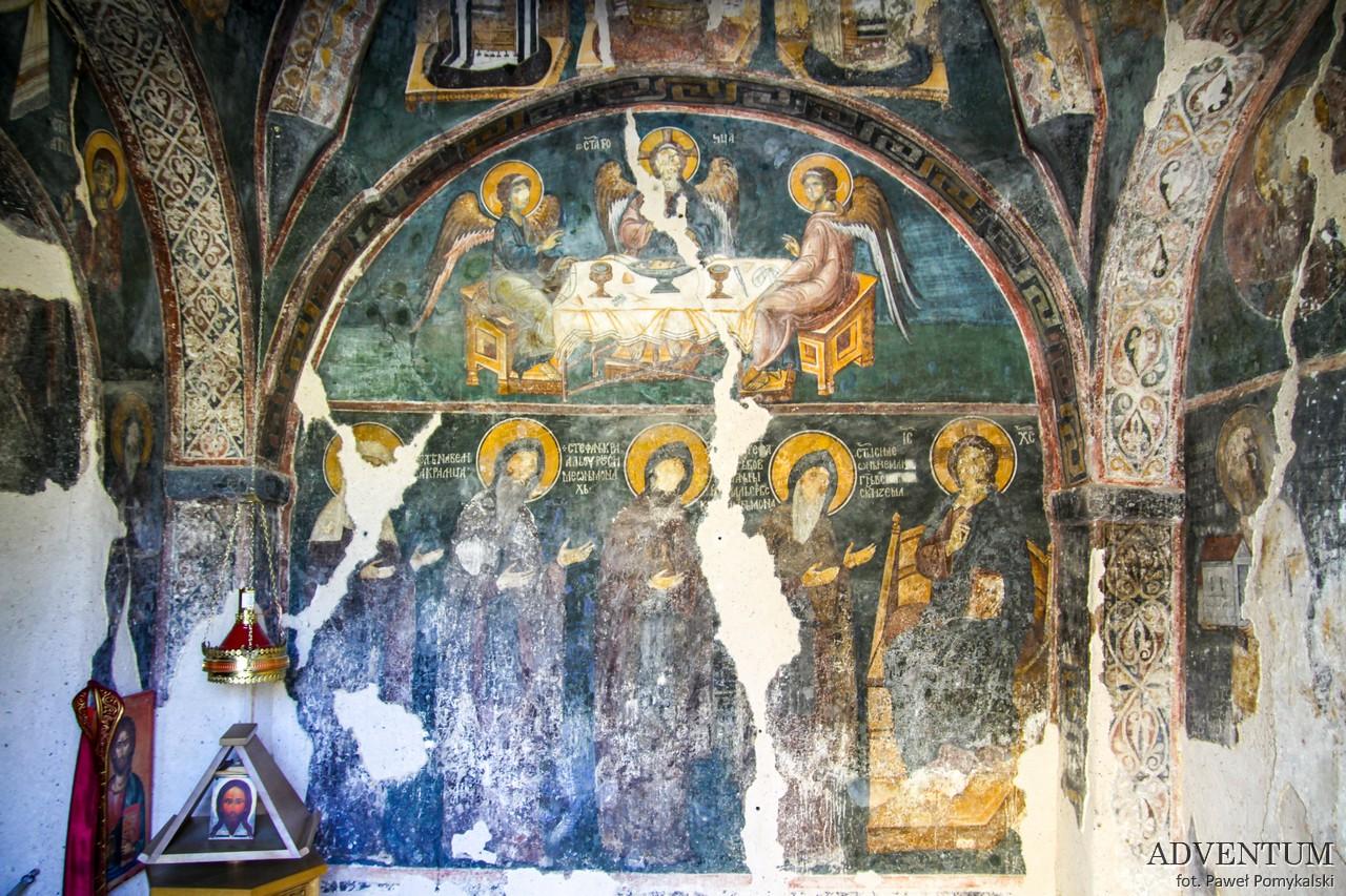 serbia atrakcje religia kierunki podróży monastyr Đurđevi stupov