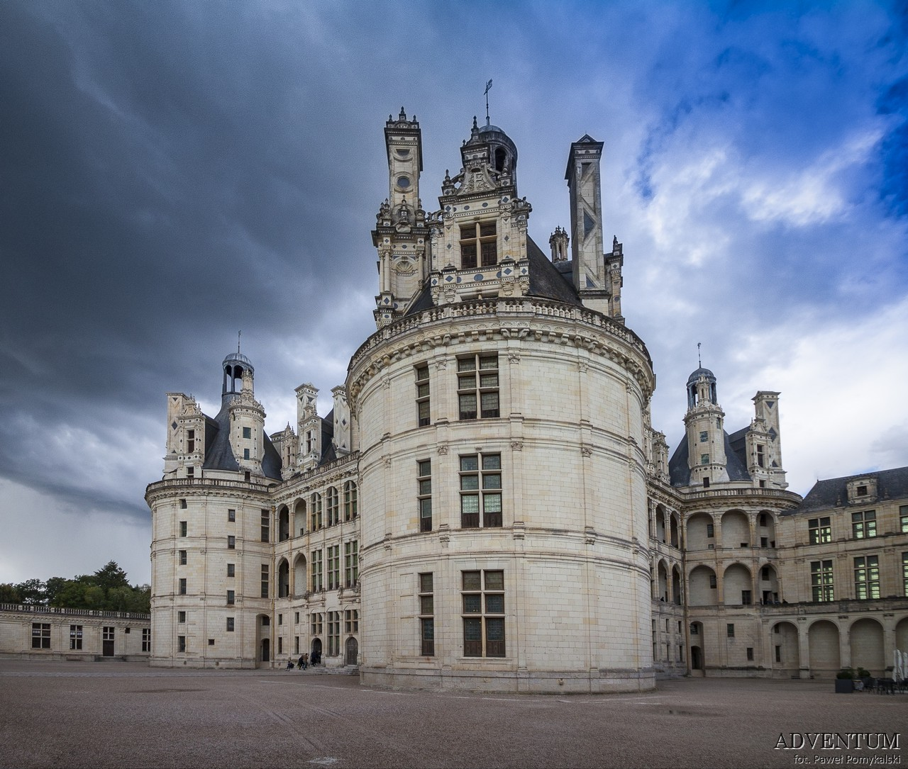 Chambord Francja Zamek Ciekawostki Zamki nad Loarą Dolina Loary Zwiedzanie Atrakcje