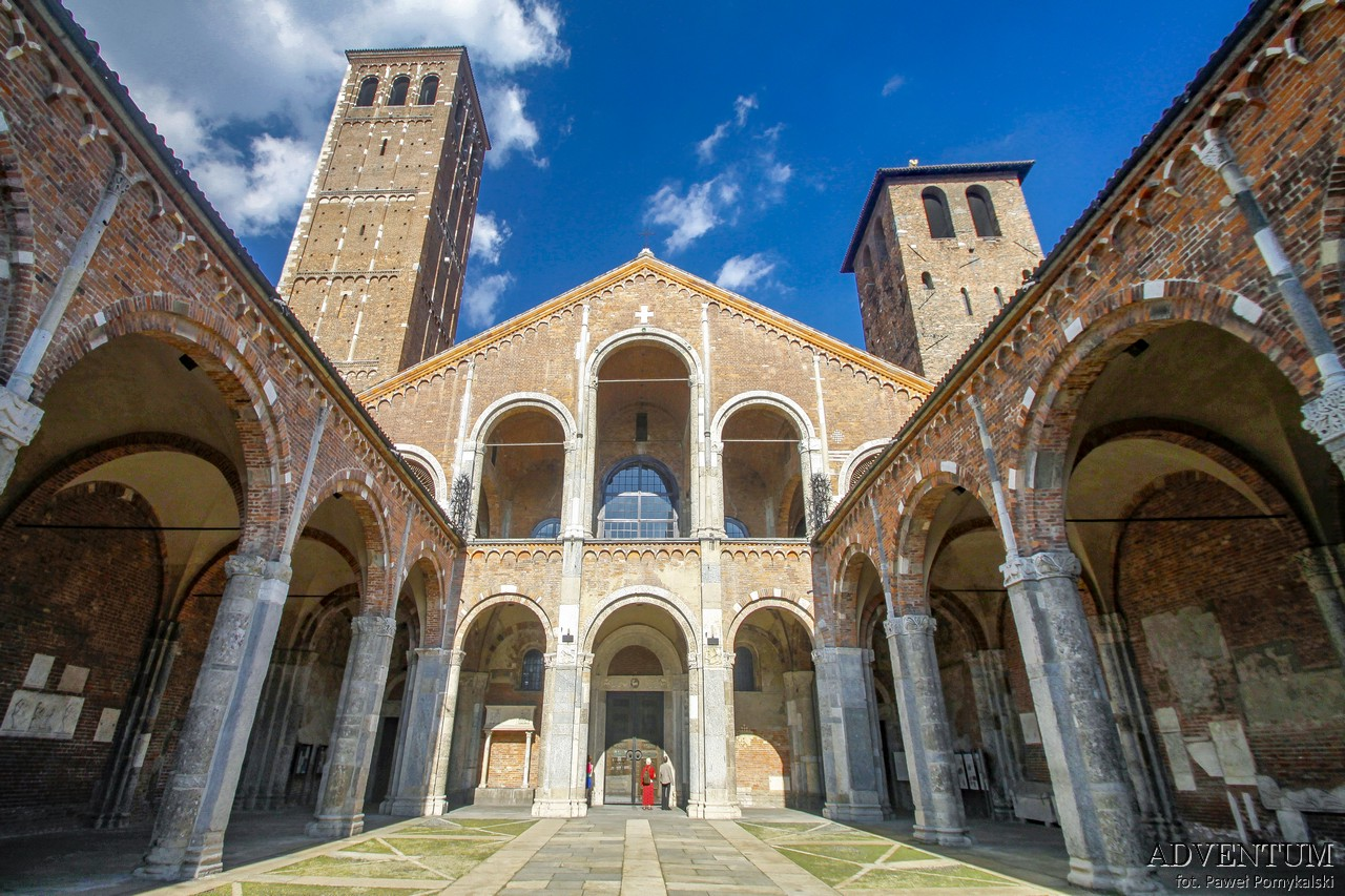 Mediolan Włochy Atrakcje Zakupy Katedra Ciekawostki Przewodnik Mapa