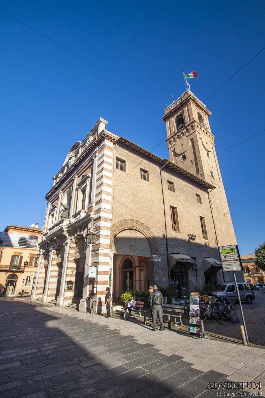 Cesena włochy italia atrakcje Zwiedzanie Biblioteka Emilia Romania