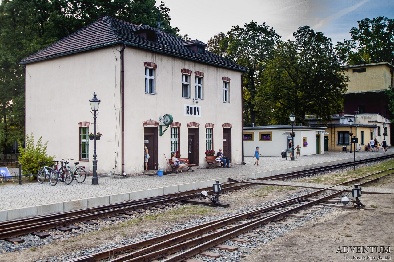 Rudy klasztor cystersi zwiedzanie atrakcje Gliwice Racibórz rybnik Kolej wąskotorowa