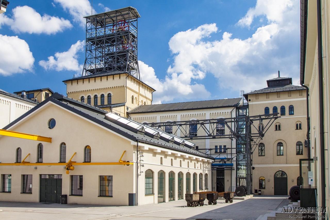 Stara kopalnia centrum nauki i sztuki wałbrzych atrakcje info koncerty parking