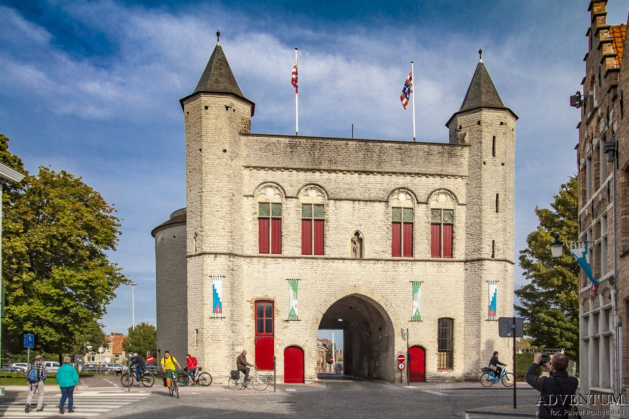 Brugia Belgia co zwiedzać mapa zdjęcia flandria Brugge Bruges morze mapa ceny