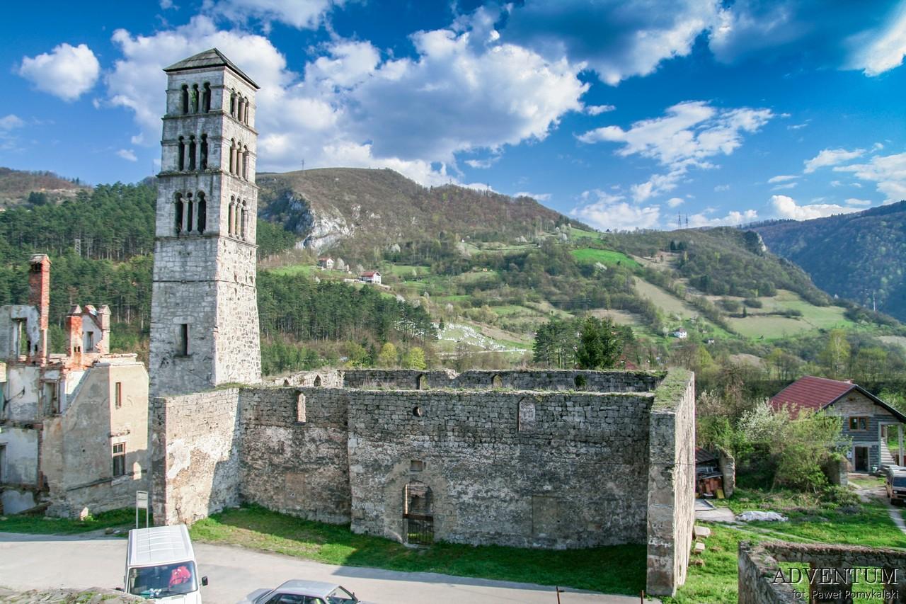 Jajce Bosna Forteca Bośnia i Hercegowia młyny twierdza Fortress