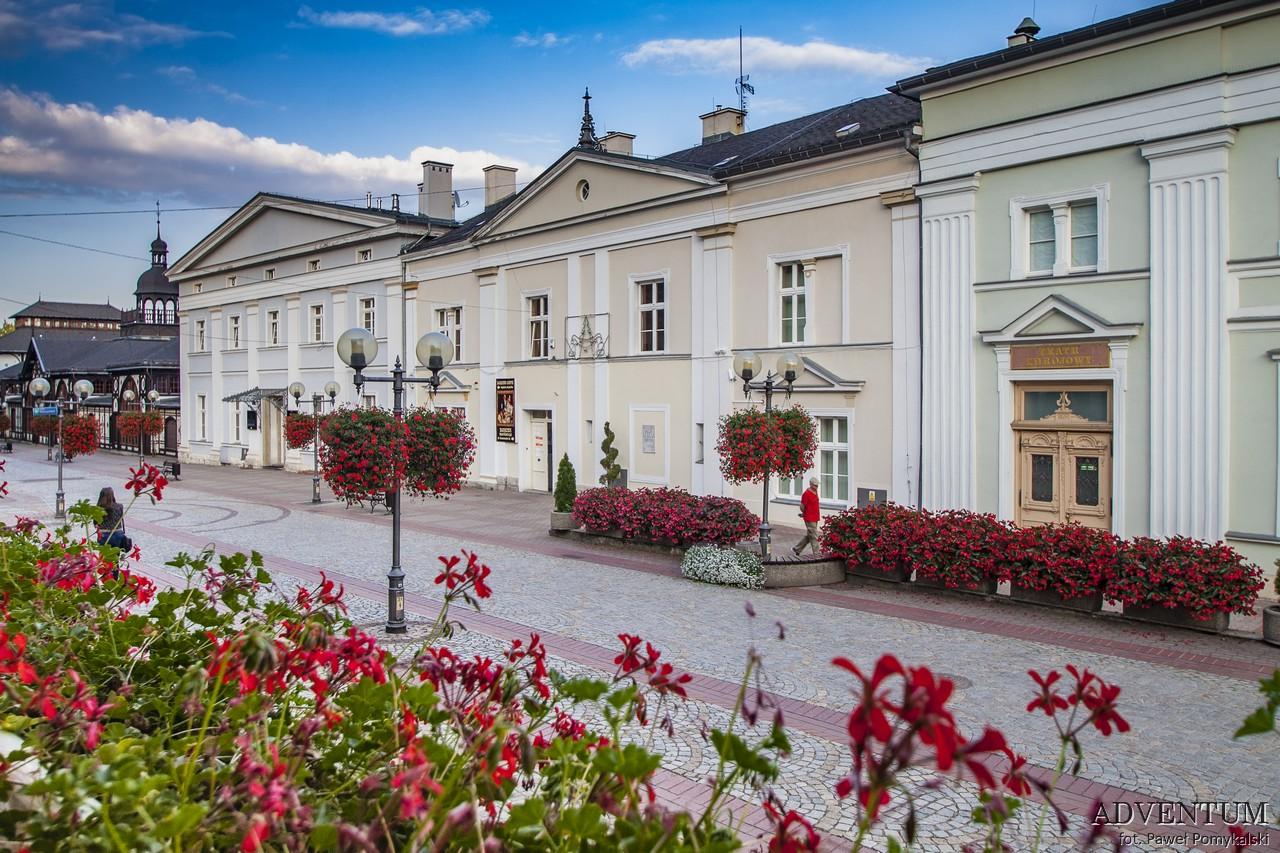 Szczawno Zdrój Dolny Śląsk Uzdrowisko Dom Zdrojowy Sanatorium imprezy atrakcje mapa gmina