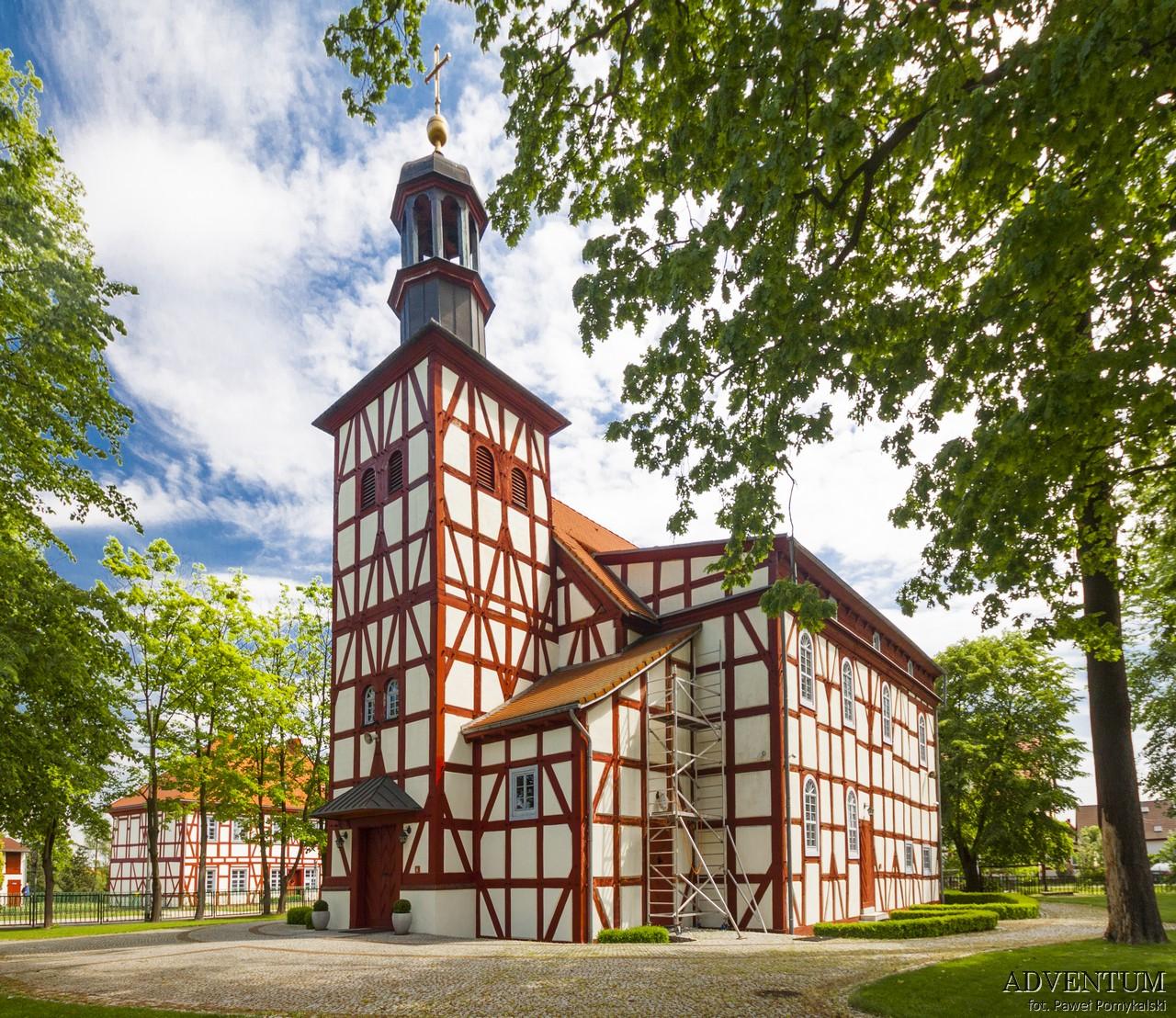 Wrocław Dolny Śląsk Atrakcje Mapa Pracze Kościół Anny