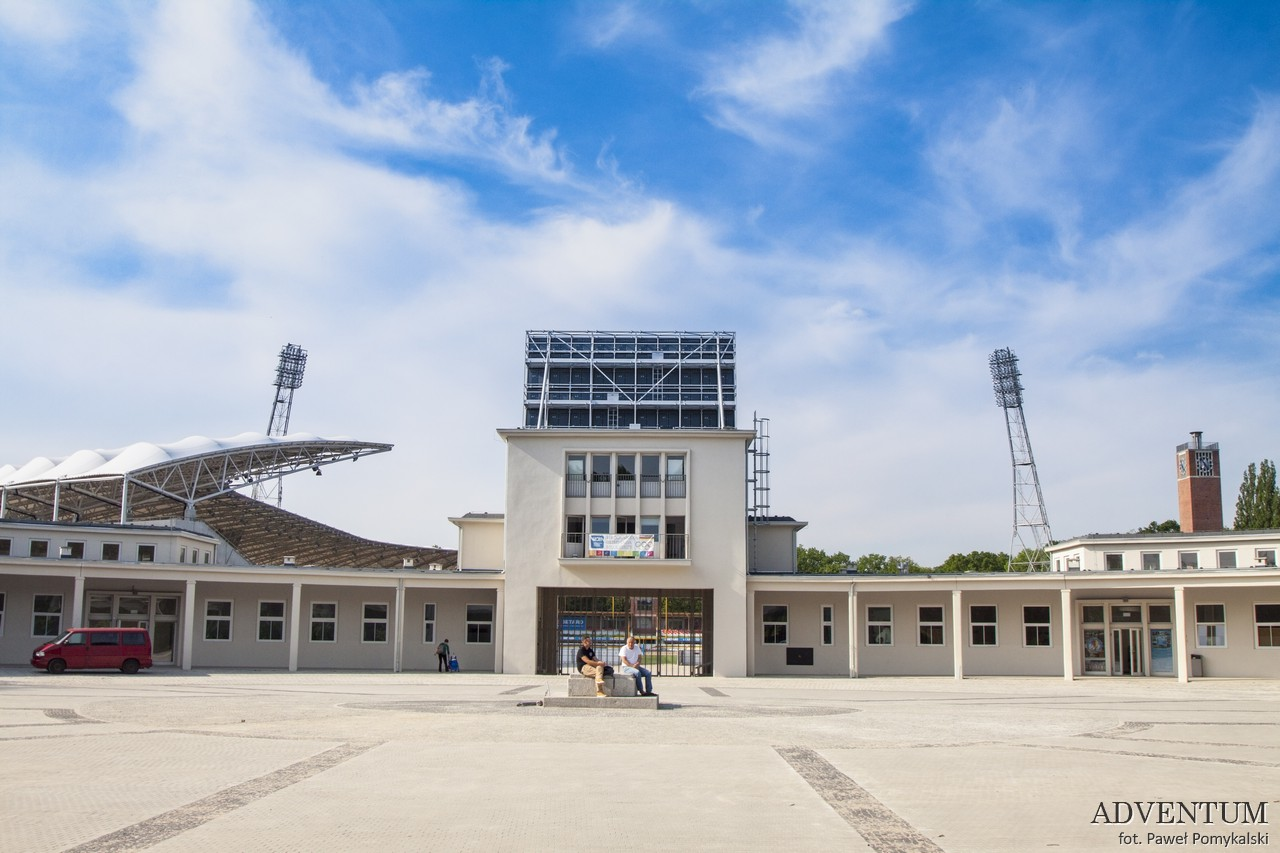 Wrocław Dolny Śląsk Atrakcje Mapa Stadion Olimpijski