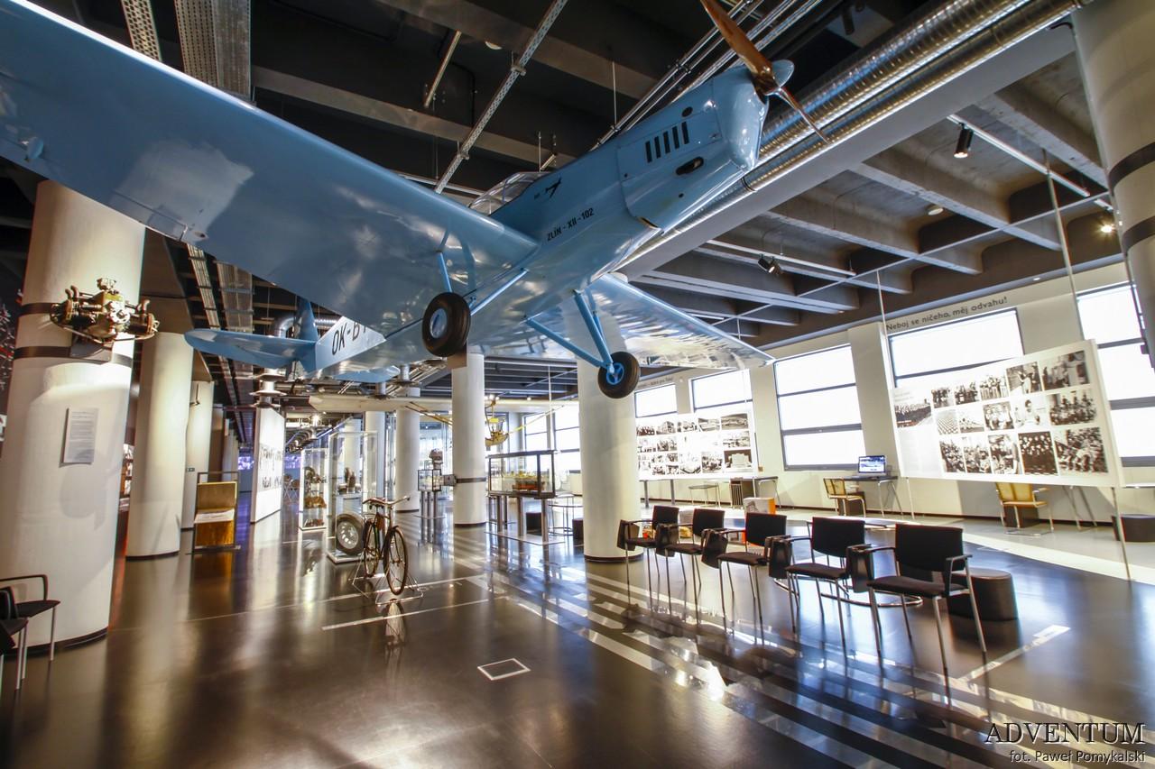 Zlin Bata Czechy Atrakcje Pomysł Zwiedzanie Wycieczka Buty Samolot