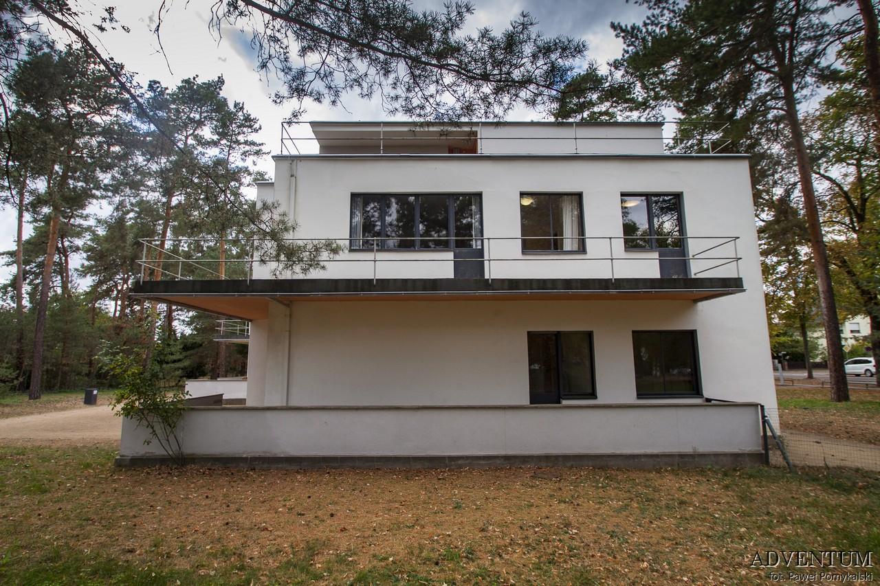 Bauhaus Dessau Historia Styl Szkoła Modernizm Gropius Logo