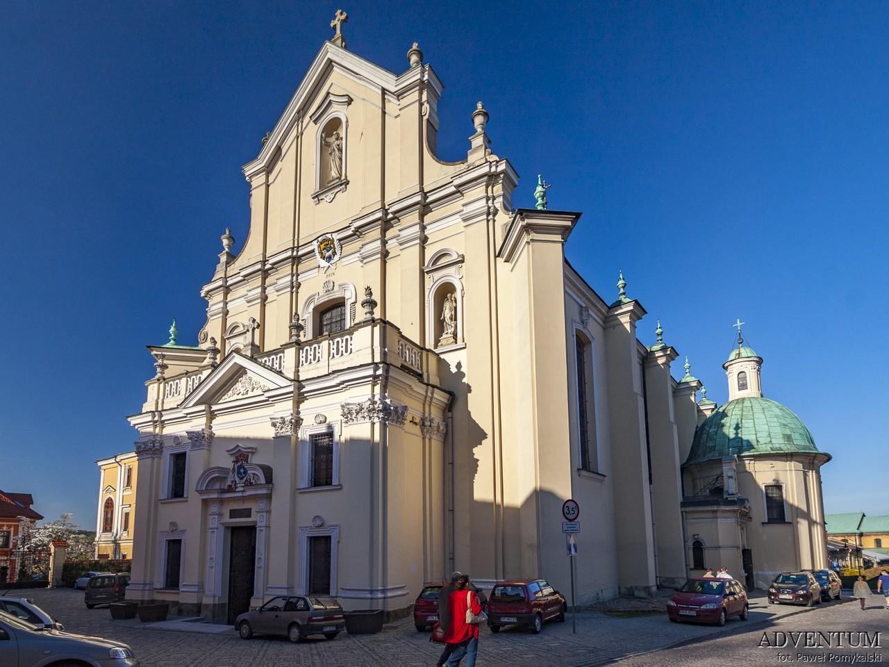 Przemyśl zabytki atrakcje rynek zamek katedra podkarpackie podkarpacie twierdza