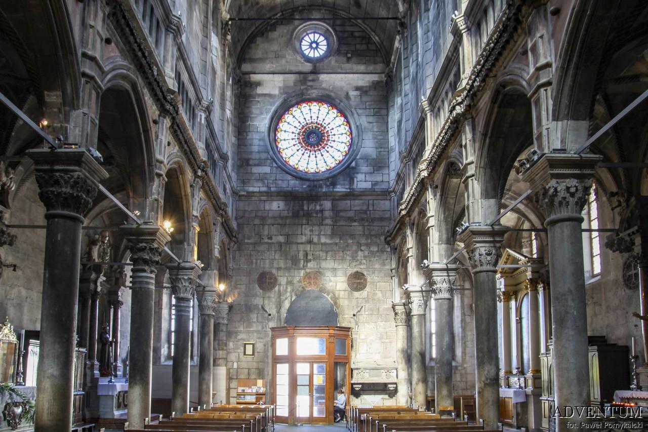 Szybenik Šibenik chorwacja katedra twierdza gra o torn atrakcje zwiedzanie mapa plaże