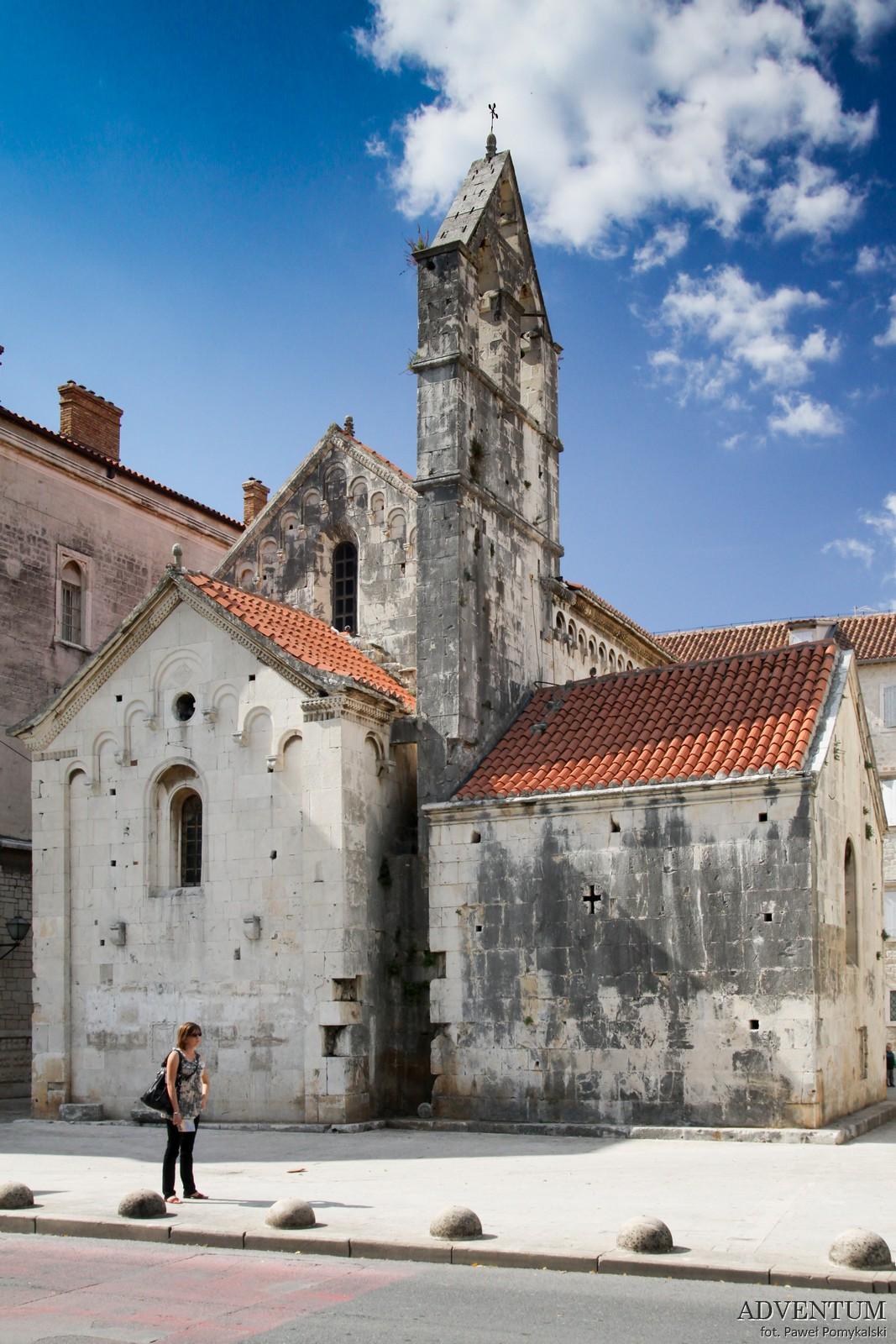 Trogir Chorwacja Atrakcje Plaże Noclegi Zwiedzanie Mapa