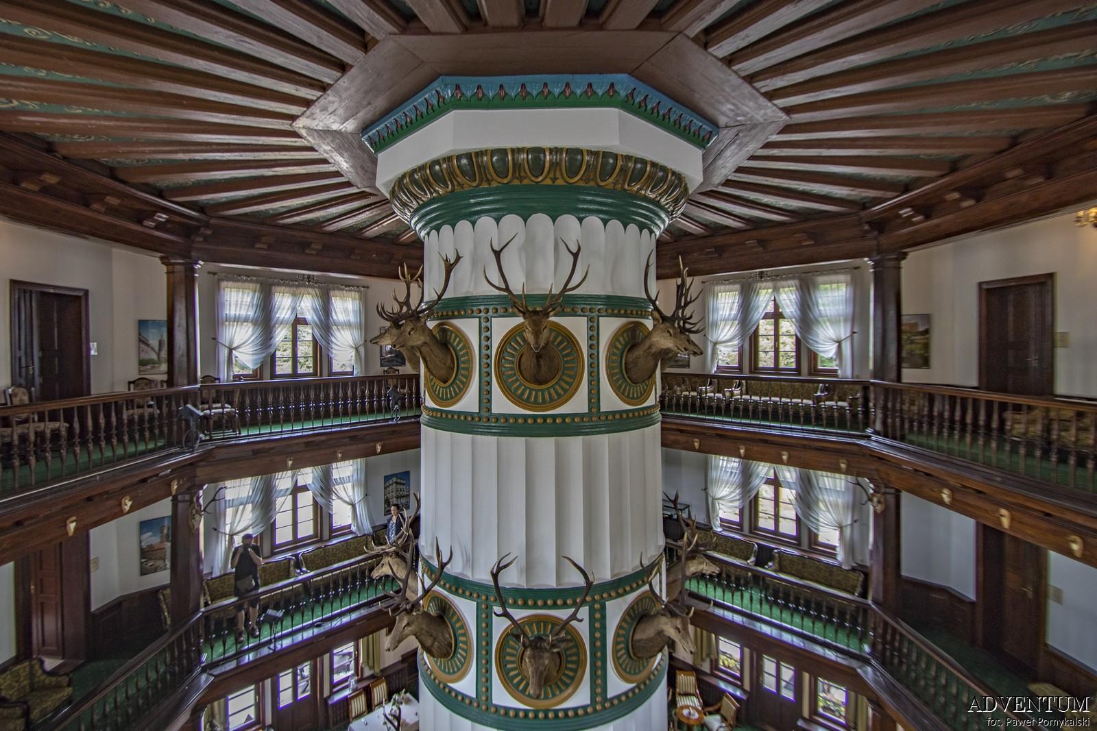 Antonin Wielkopolskie Pałac Hotel Noclegi Jezioro Imprezy