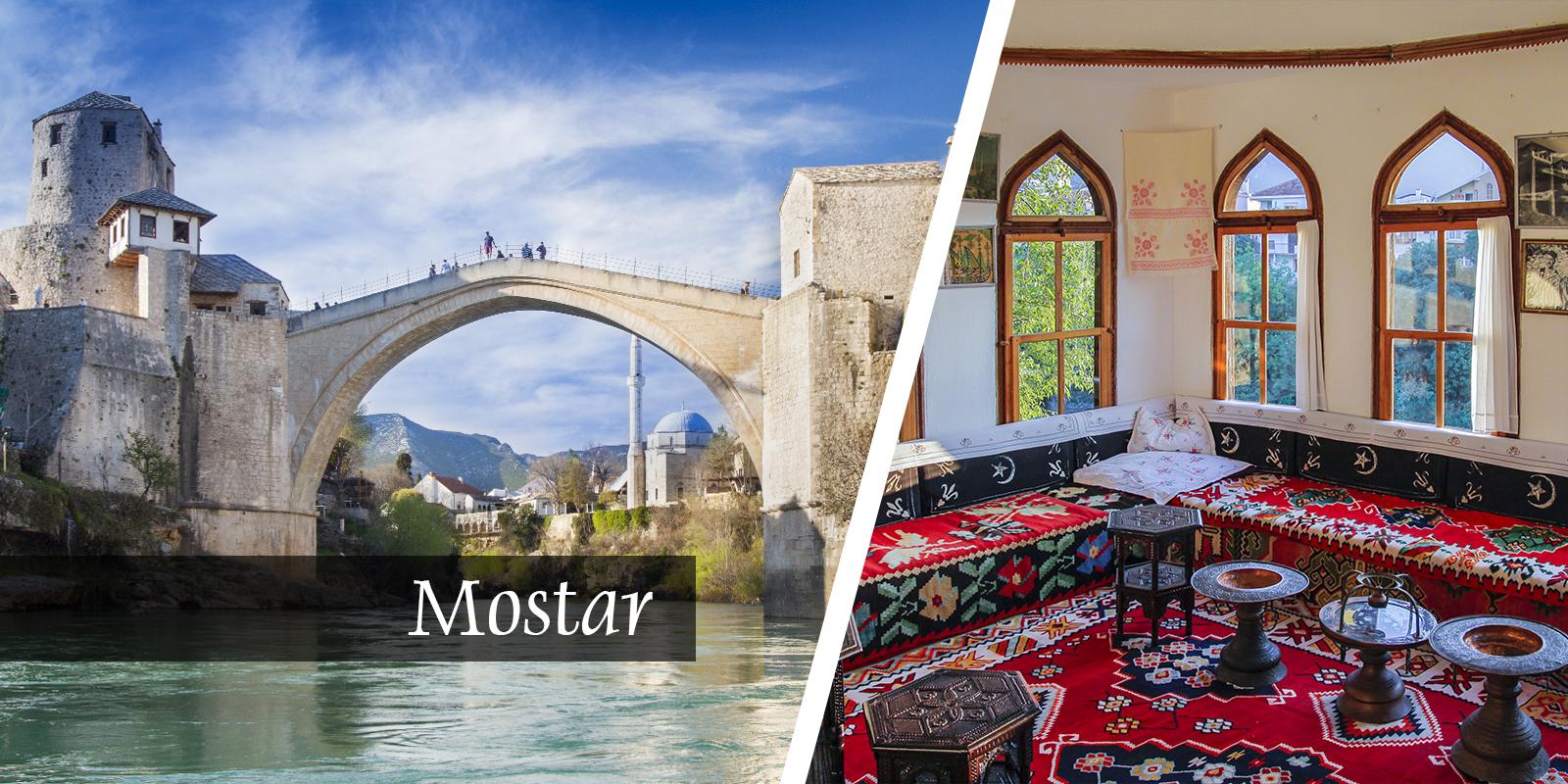Mostar Bośnia Stary Most AtrakcjeZabytki Pogoda Zwedzanie Bałkany