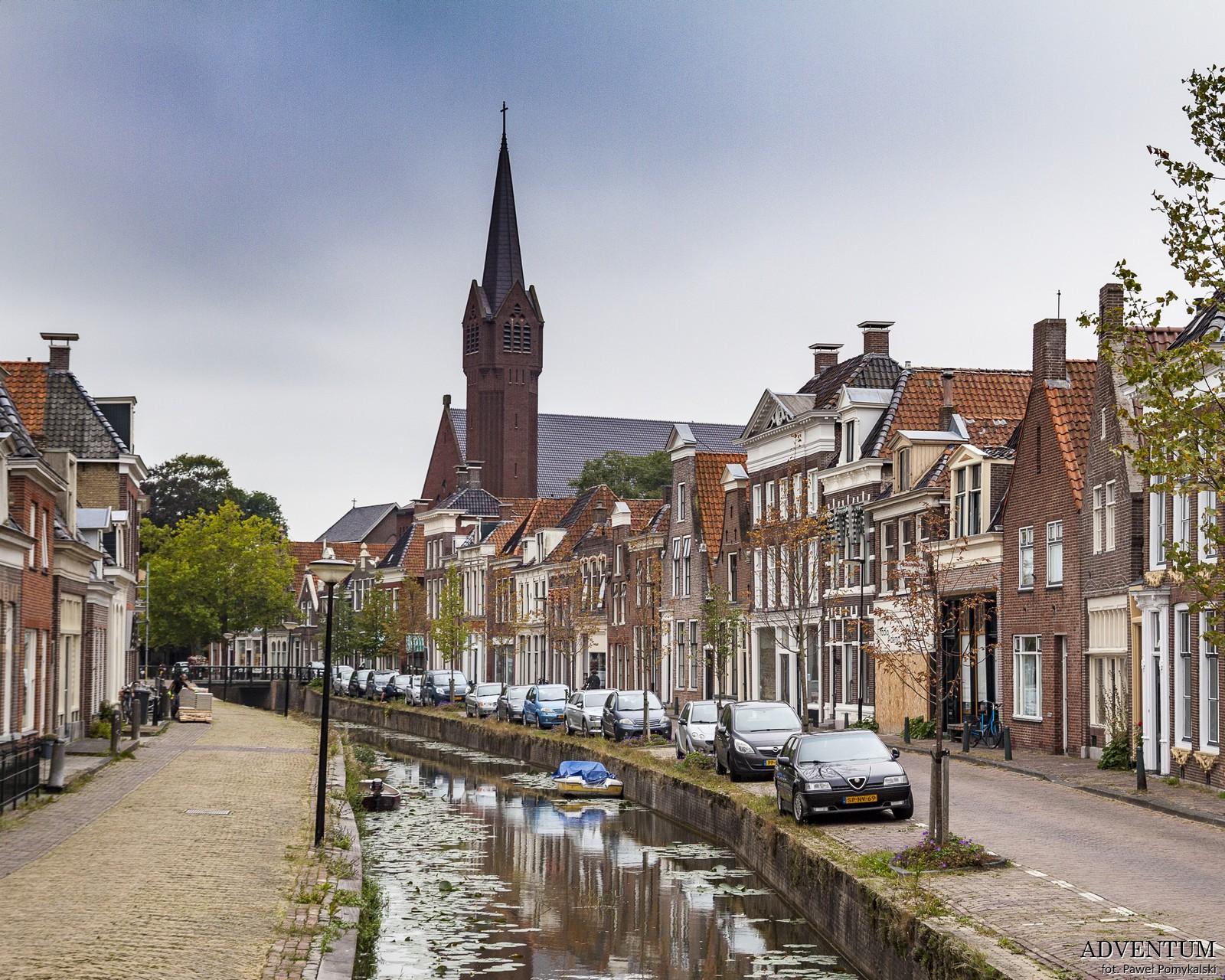 Holandia Bolsward Atrakcje Zwiedzanie co Zobaczyć Amsterdam Rotterdam Haga Kanały Wiatraki