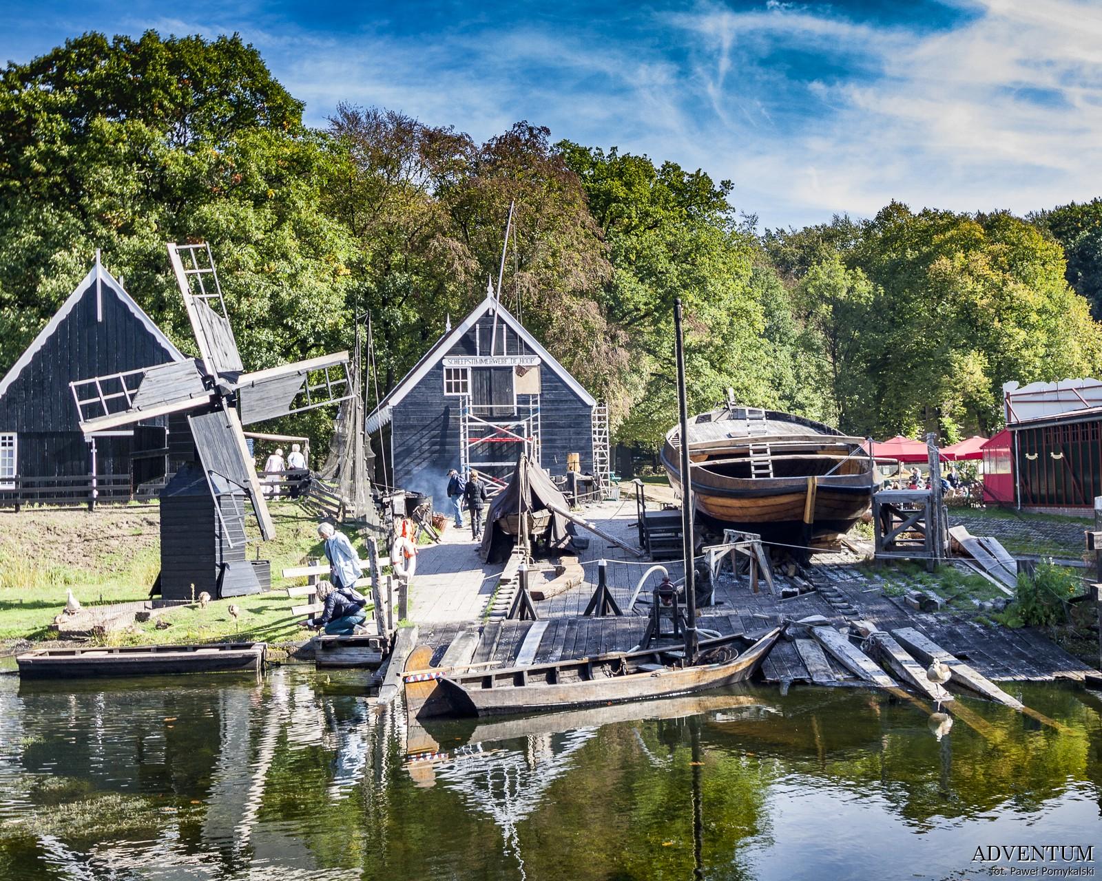 Holandia Skansen w Arnhem Atrakcje Zwiedzanie co Zobaczyć Amsterdam Rotterdam Haga Kanały Wiatraki