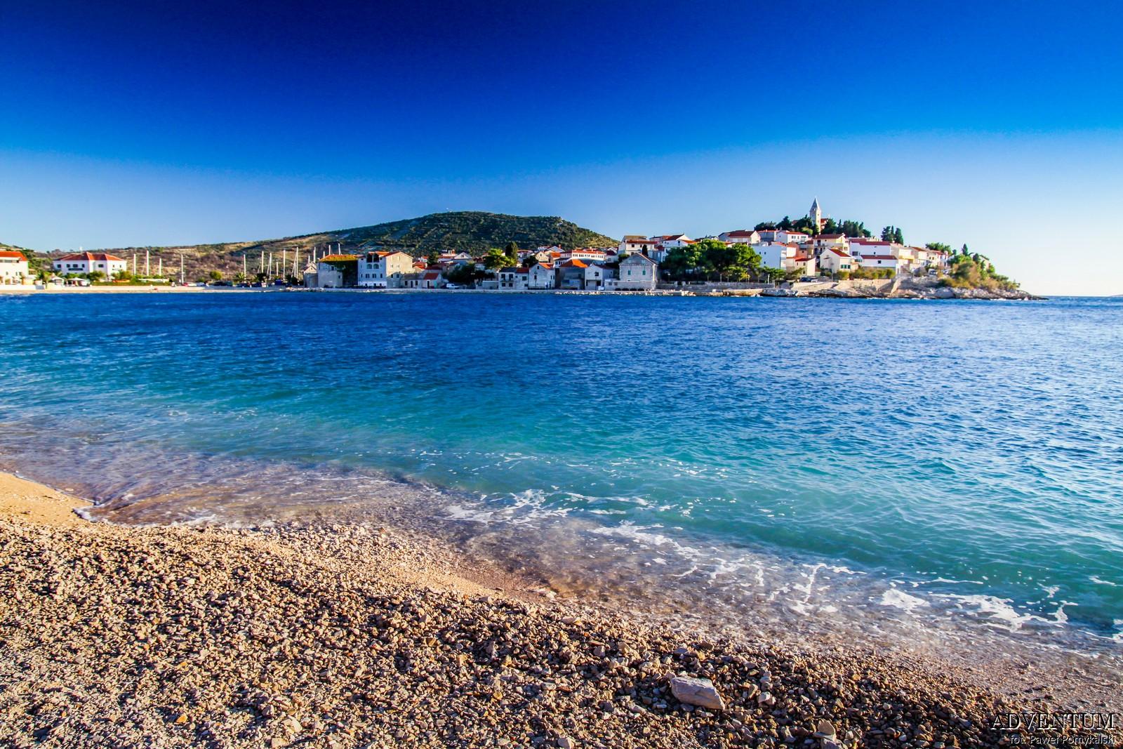 Primošten Chorwacja Zdjęcia Plaże Atrakcje Przewodnik