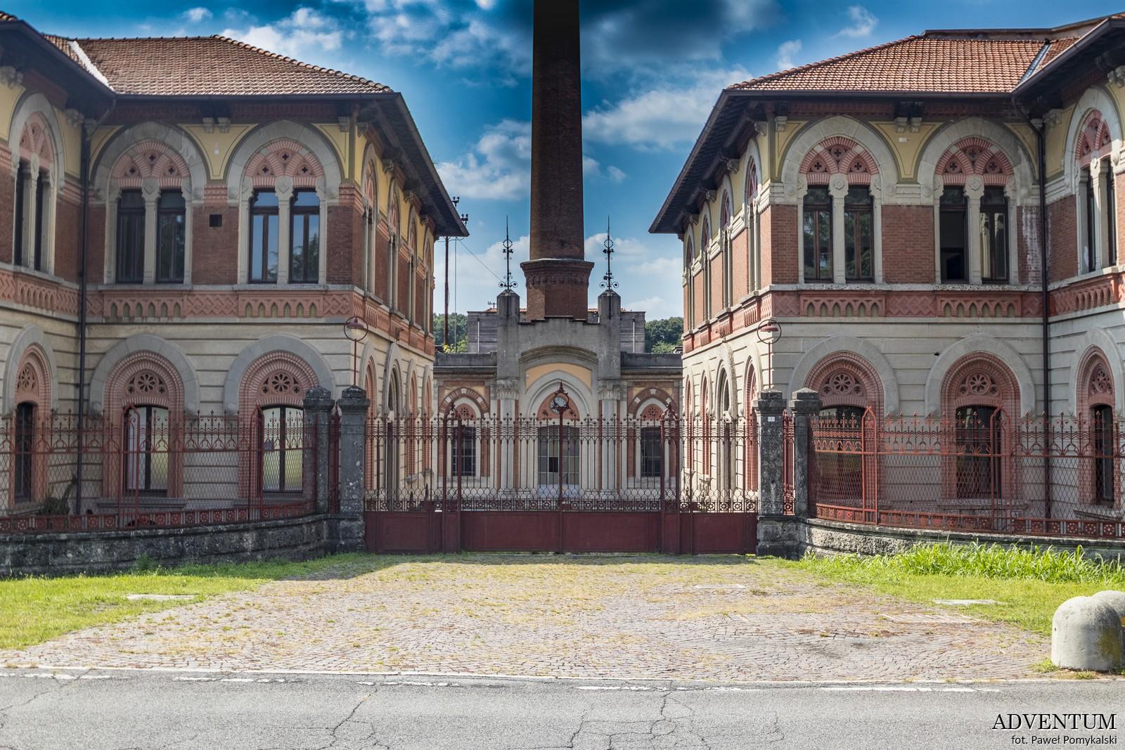 Bergamo Crespi d'Adda. Włochy Italia Atrakcje Loty Noclegi Mapa Widoki Tanie Linie Lotnisko