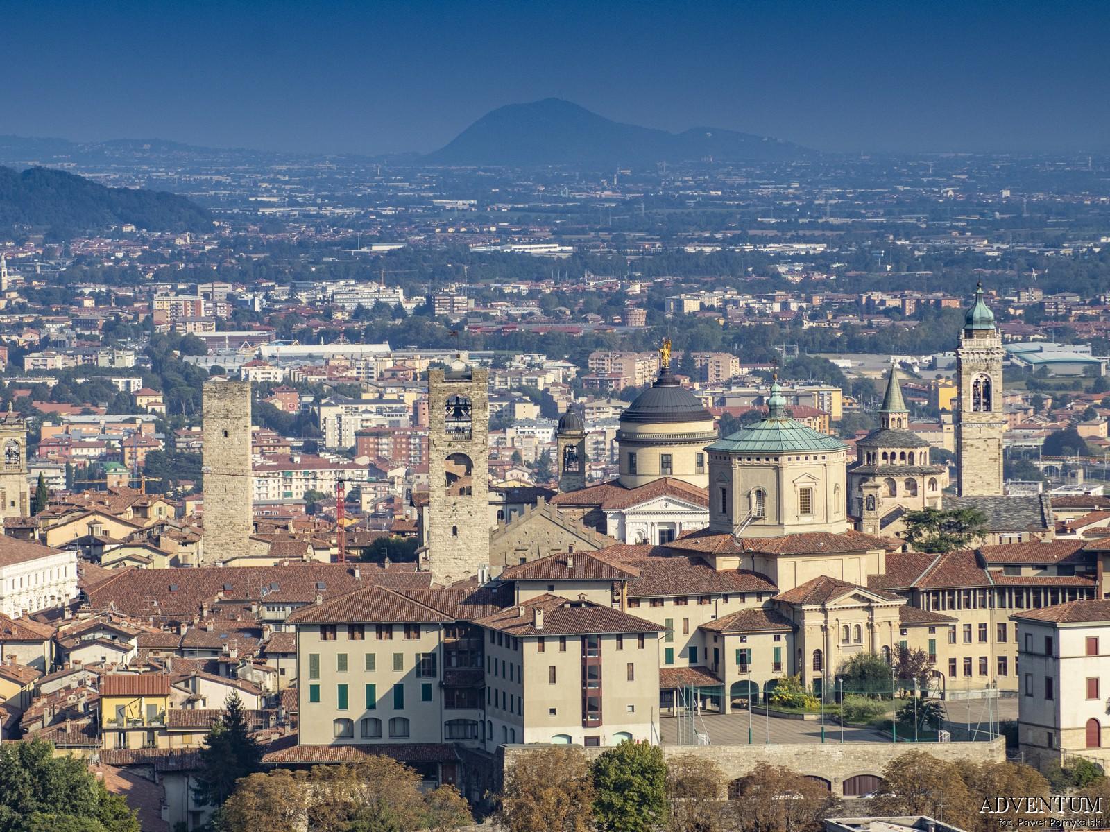 Bergamo Włochy Italia Atrakcje Widok Loty Noclegi Mapa Widoki Tanie Linie Lotnisko