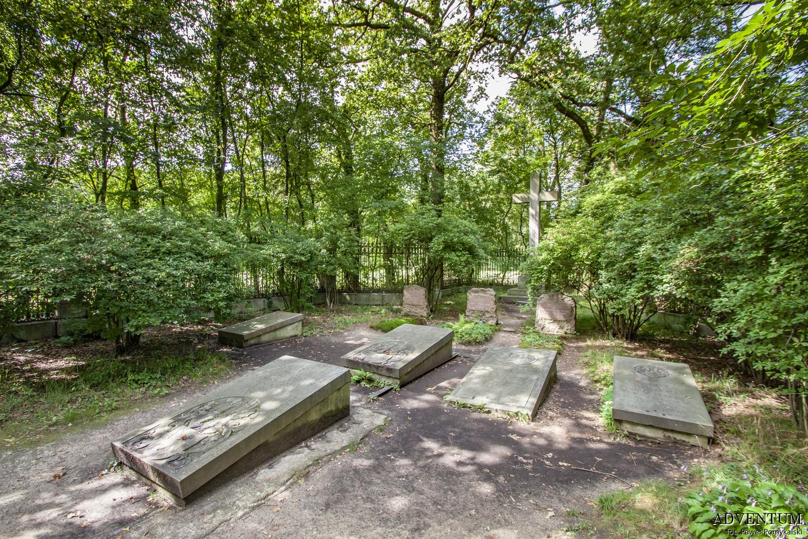 Cmentarze Górny Śląsk Cmentarz nekropiloia Moszna