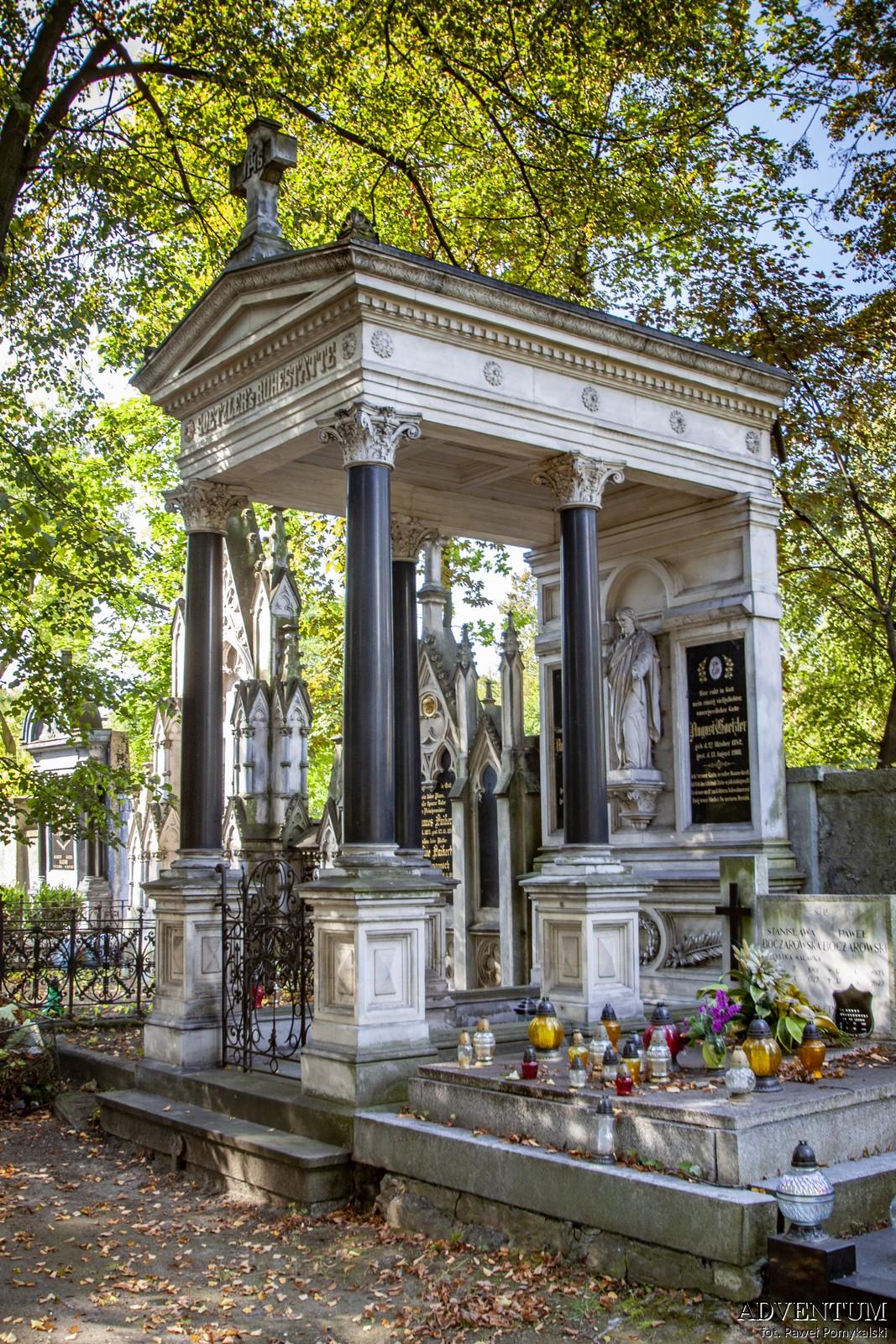 Cmentarze Górny Śląsk Cmentarz nekropiloia Bytom