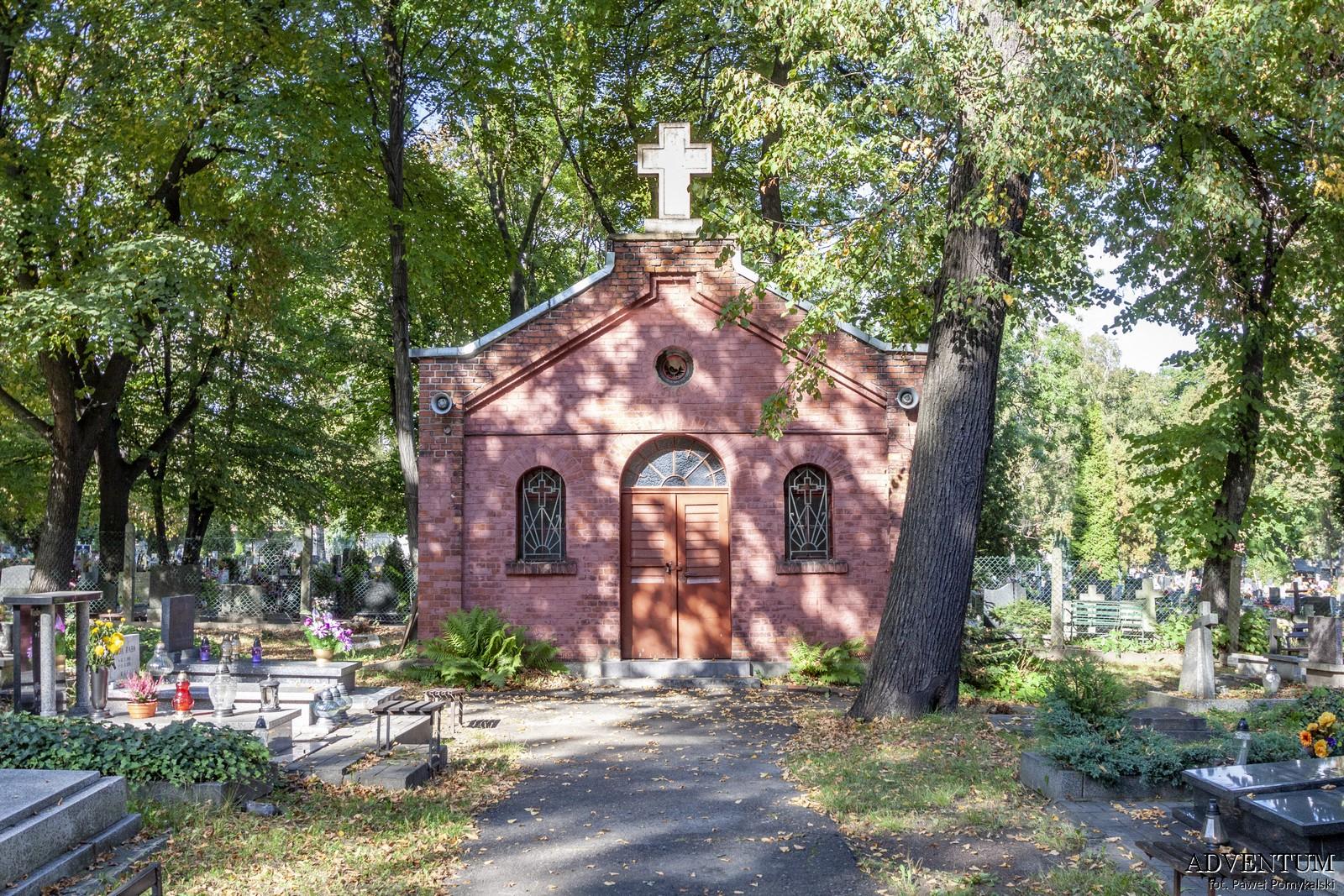 Cmentarze Górny Śląsk Cmentarz nekropiloia Katowice