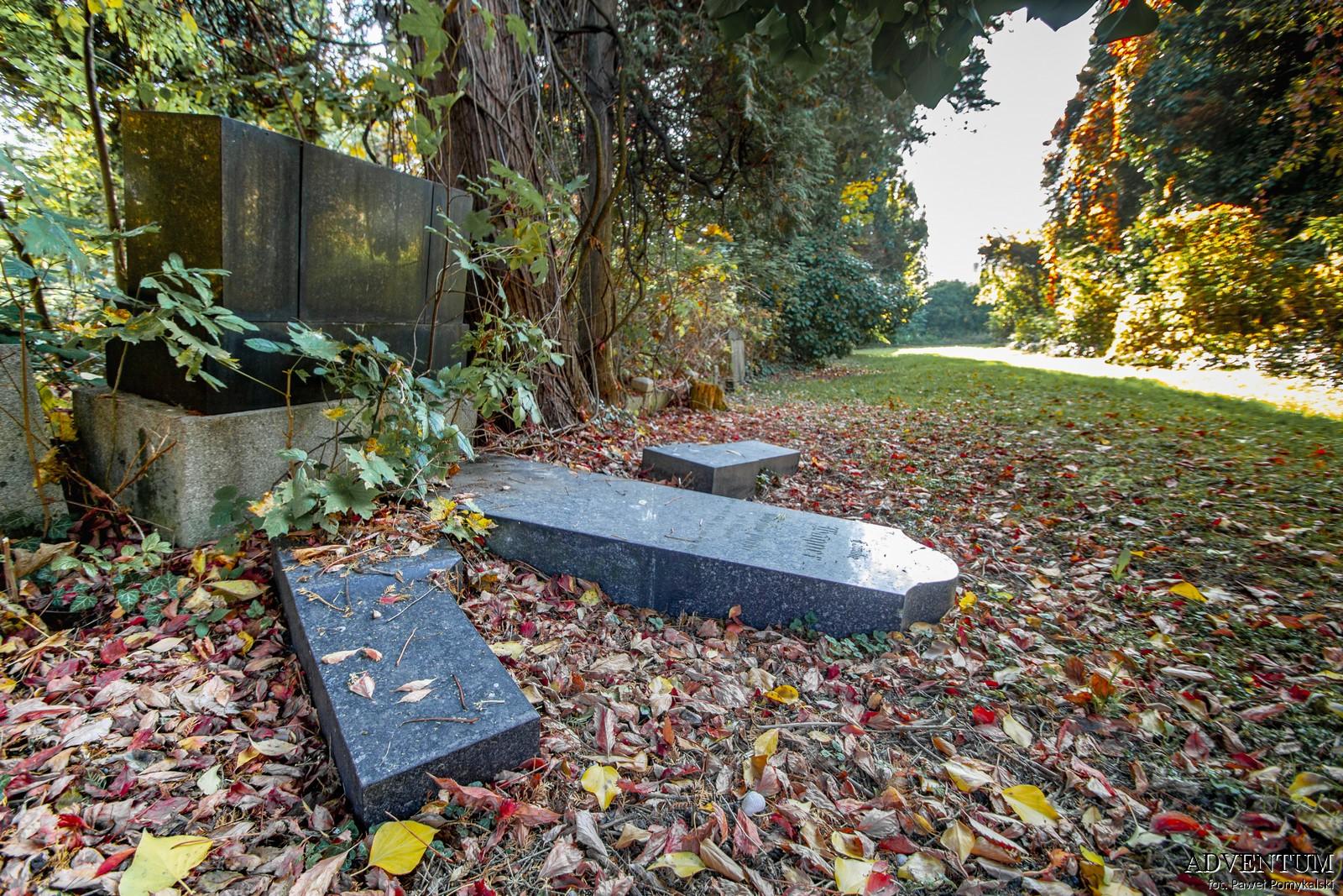 Cmentarze Górny Śląsk Cmentarz nekropiloia Bielsko