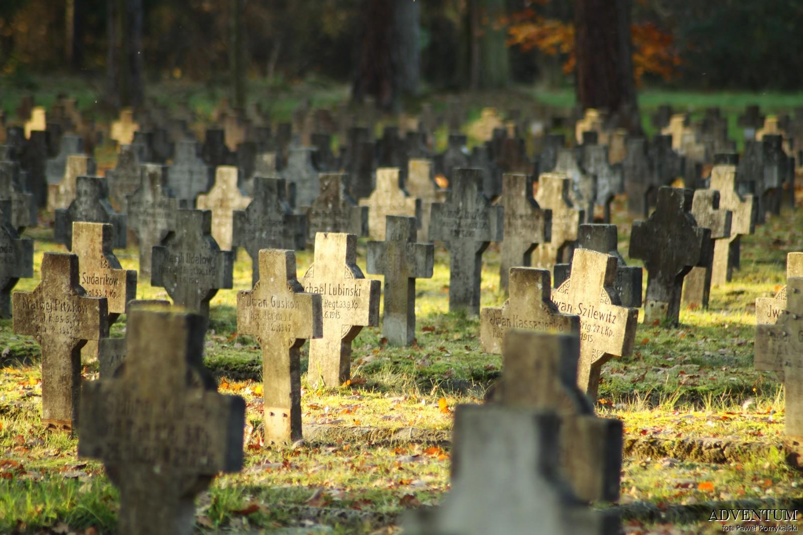 Cmentarze Górny Śląsk Cmentarz nekropiloia Łambinowice