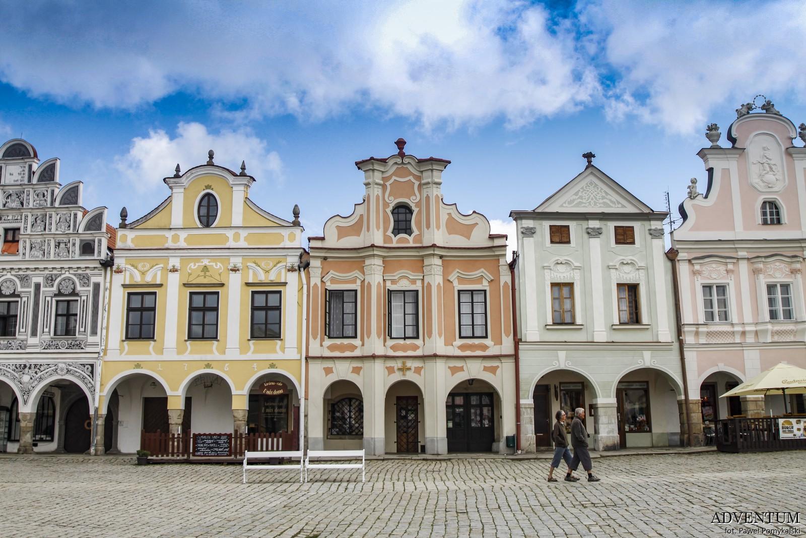 Telcz Telč czechy atrakcje zamek klasztor Unesco rynek zwiedzanie przewodnik